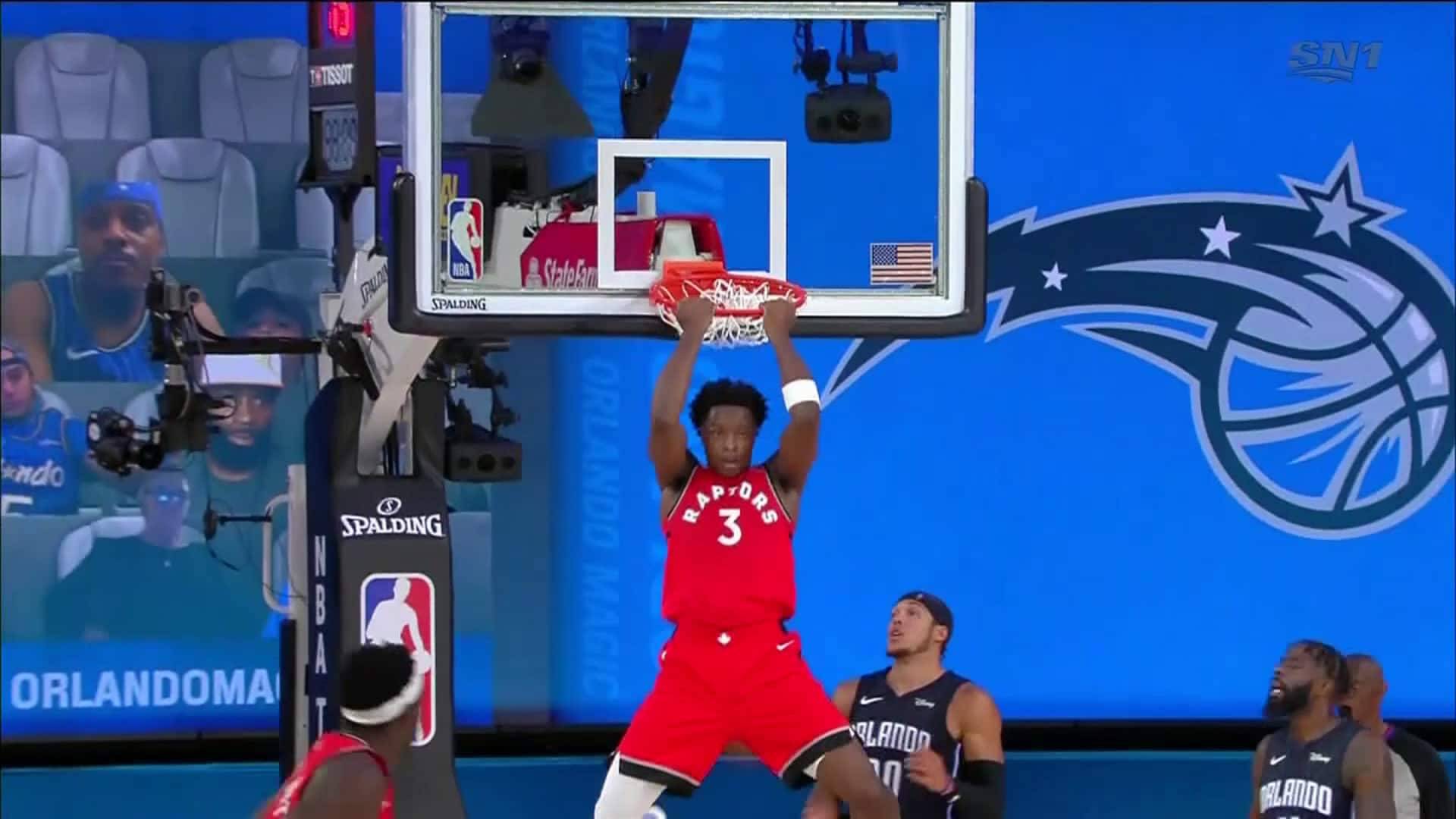 Raptors Highlights: Anunoby Dunk - August 5, 2020