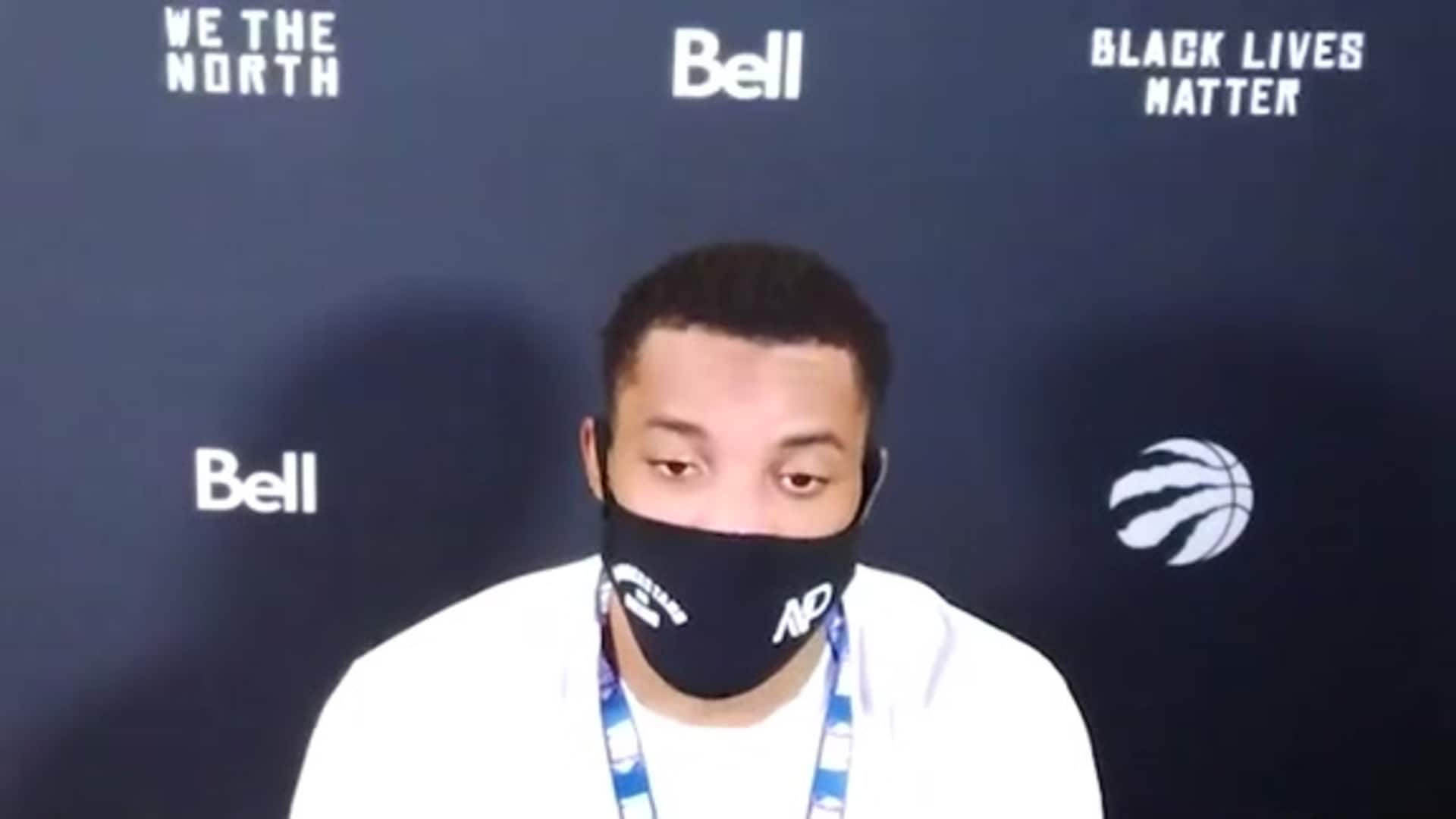 Post Game: Norman Powell - August 7, 2020