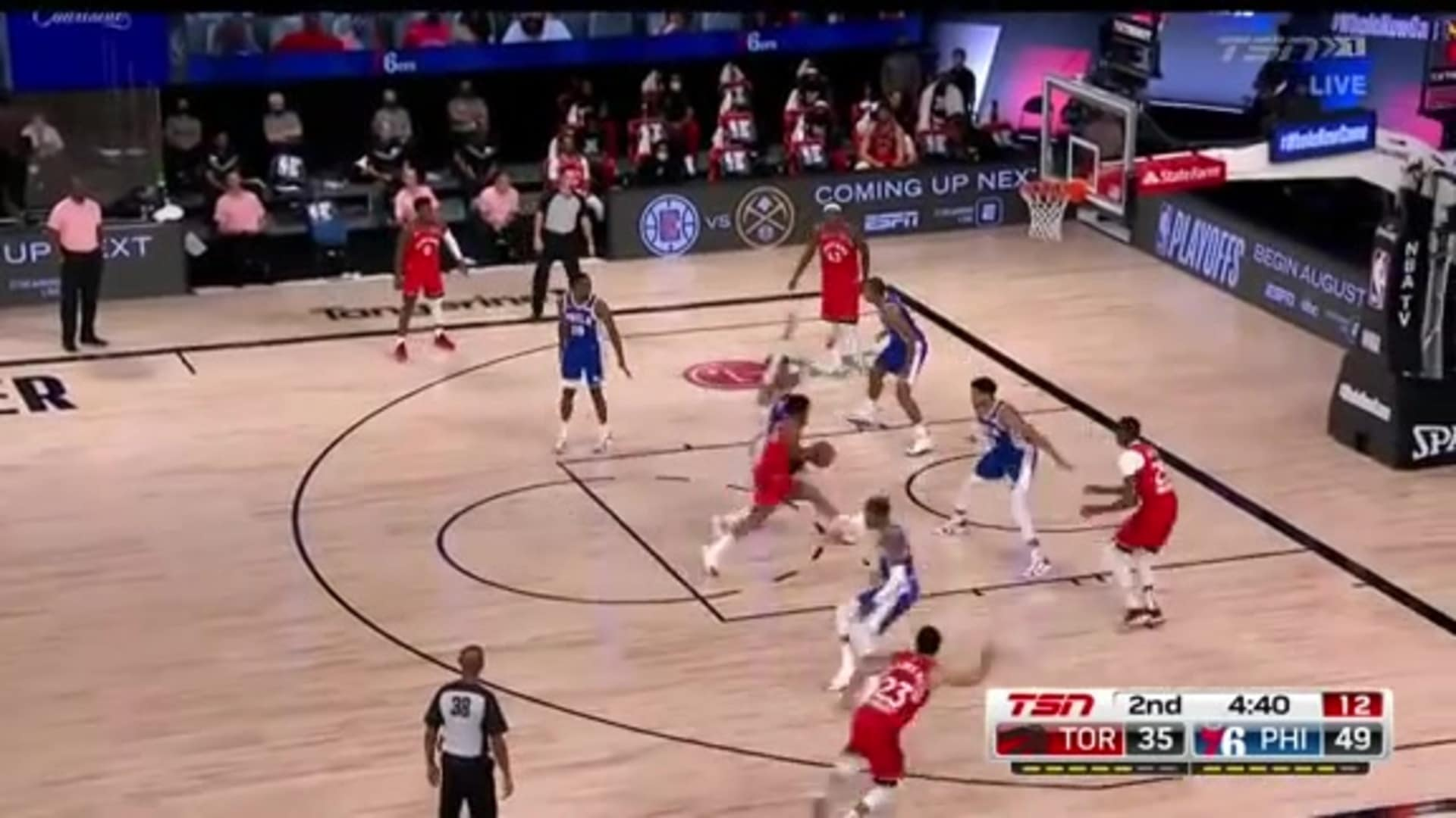 Raptors Highlights: Kyle Lowry Spin Move - August 12, 2020