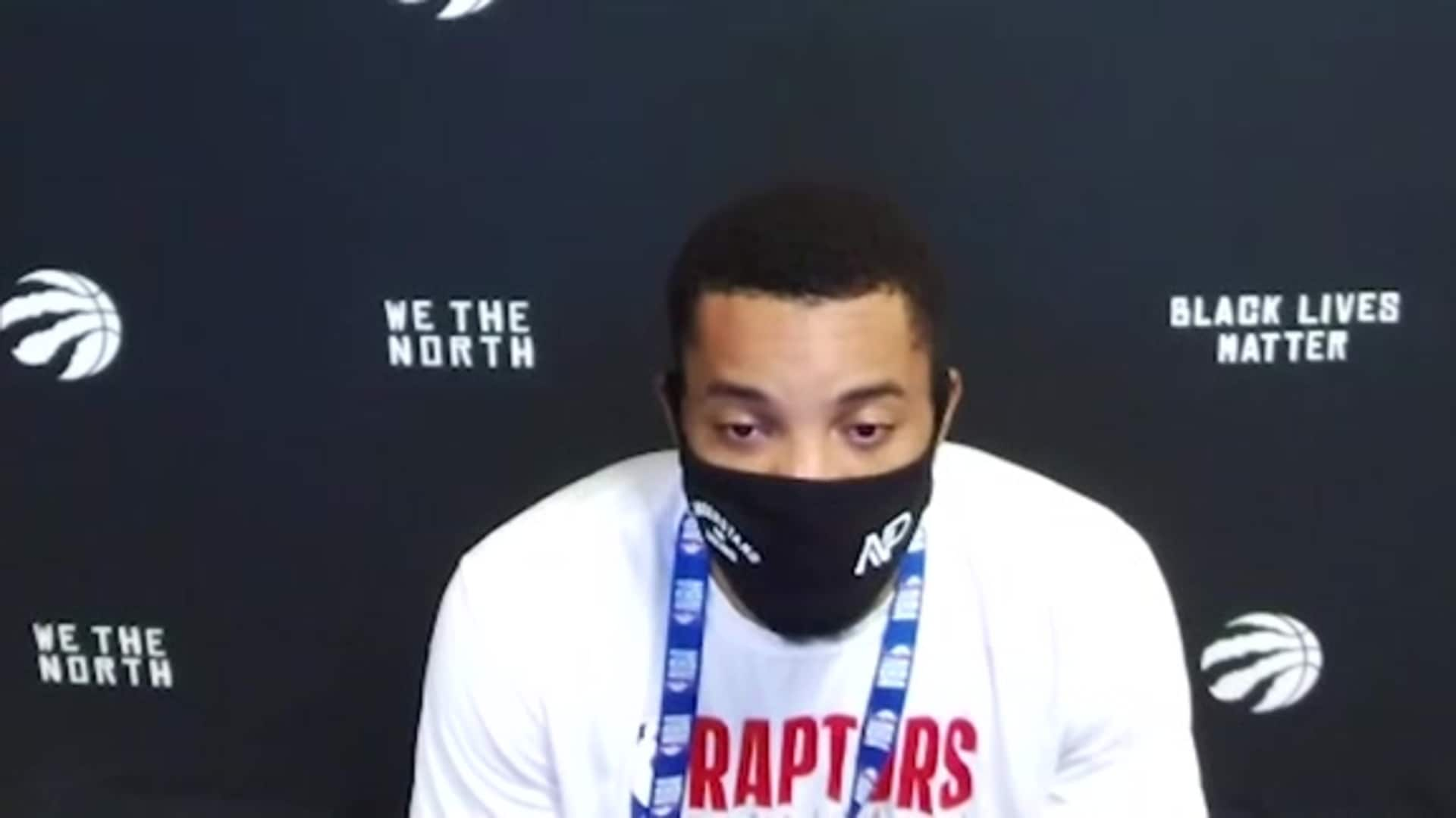 Post Game: Norman Powell - August 12, 2020