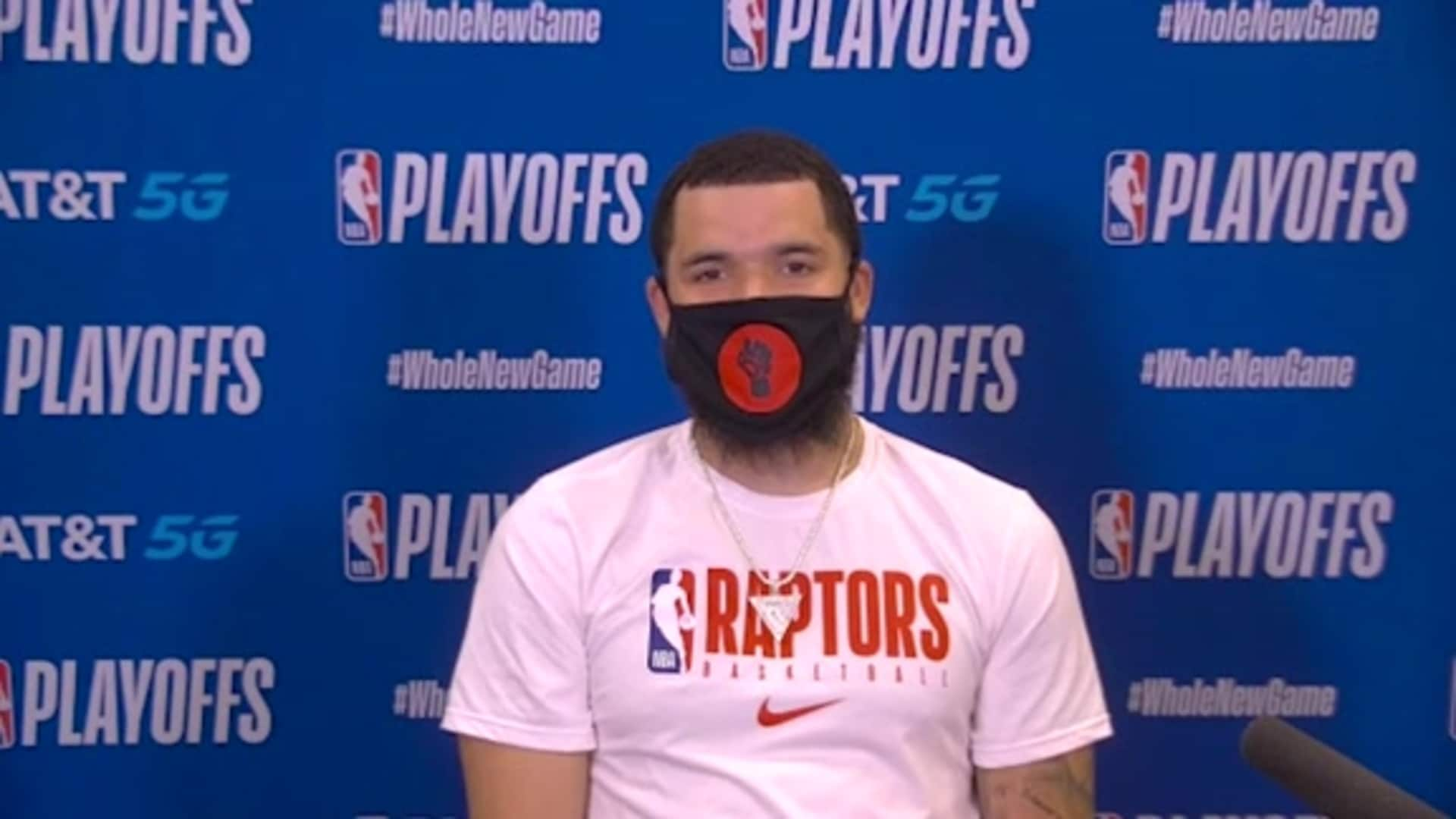 Raptors Post Game: Fred VanVleet - August 21, 2020