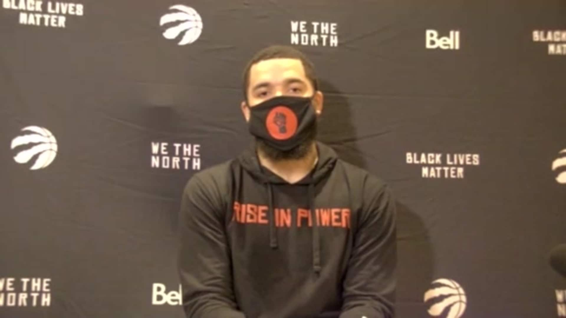 Raptors Practice: Fred VanVleet - August 25, 2020