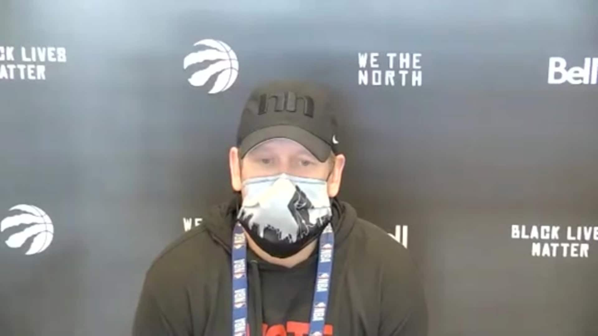 Raptors Practice: Nick Nurse - September 8, 2020
