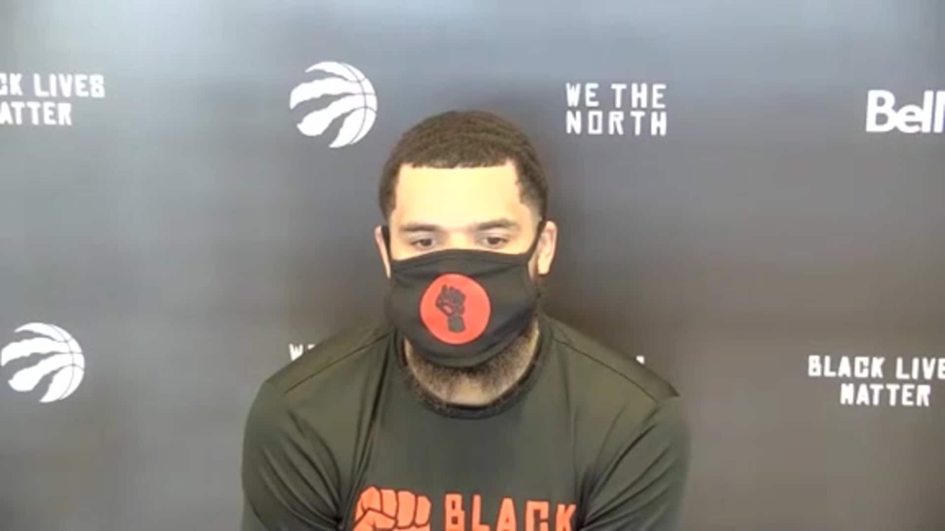 Raptors Practice: Fred VanVleet - September 8, 2020