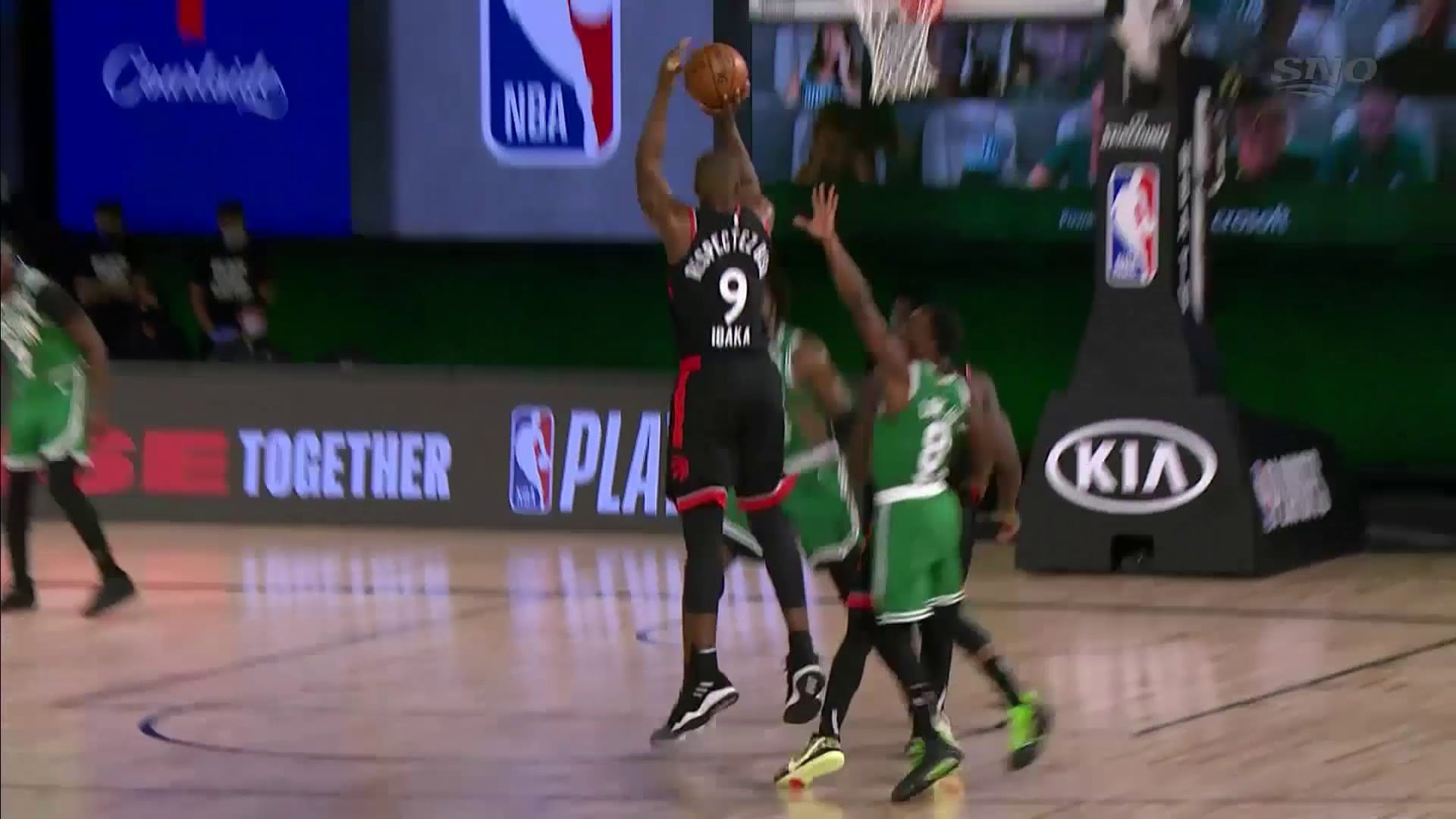 Raptors Highlights: Ibaka Three - September 9, 2020