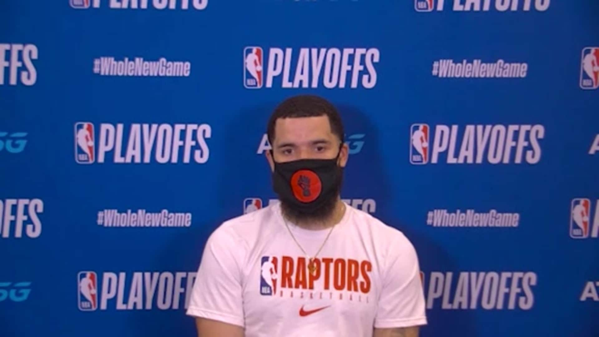 Post Game: Fred VanVleet - September 9, 2020