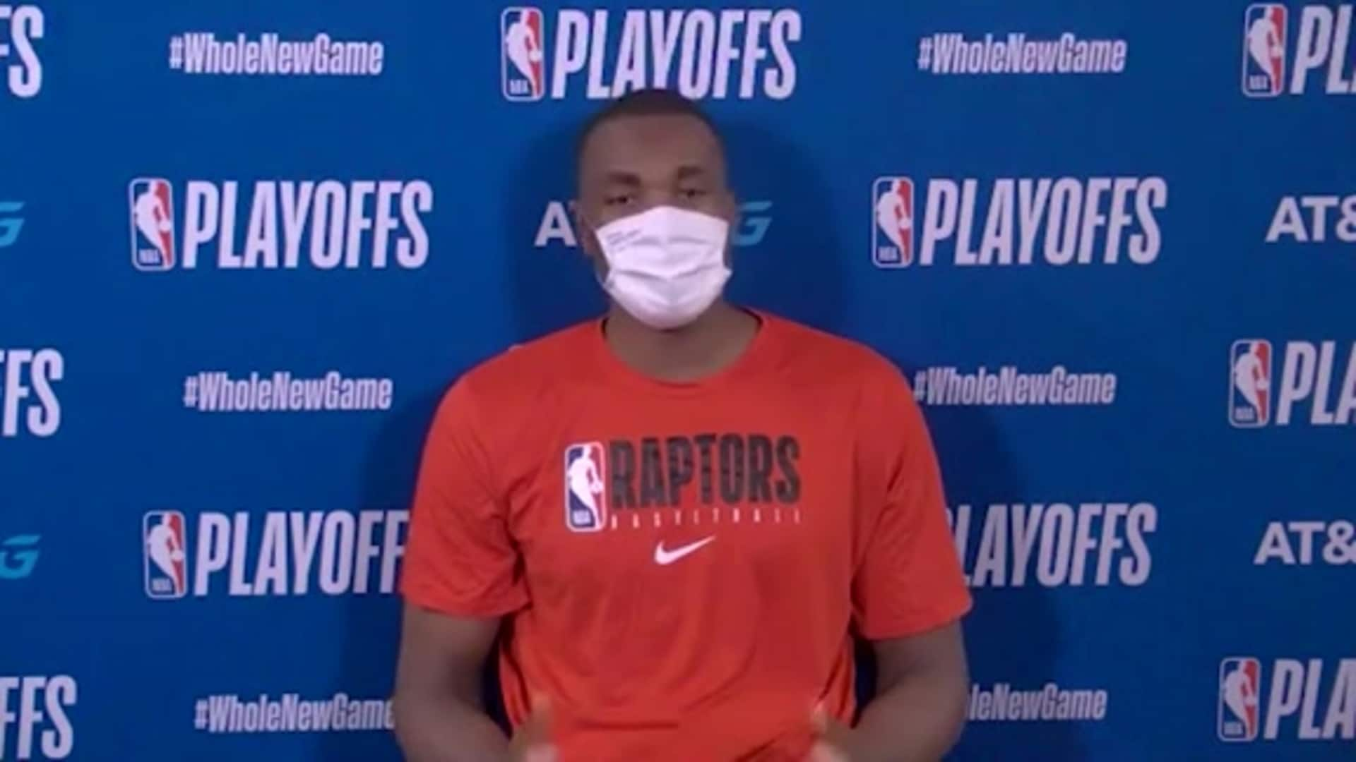 Post Game: Serge Ibaka - September 11, 2020