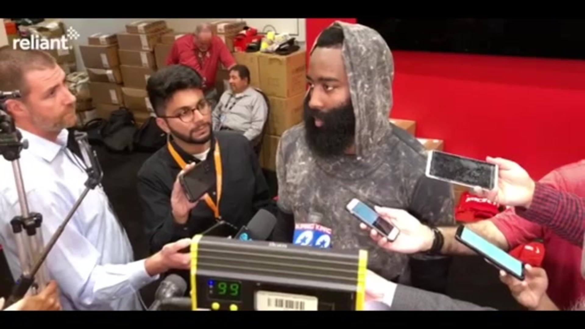 Postgame Interviews: James Harden 11-6-19