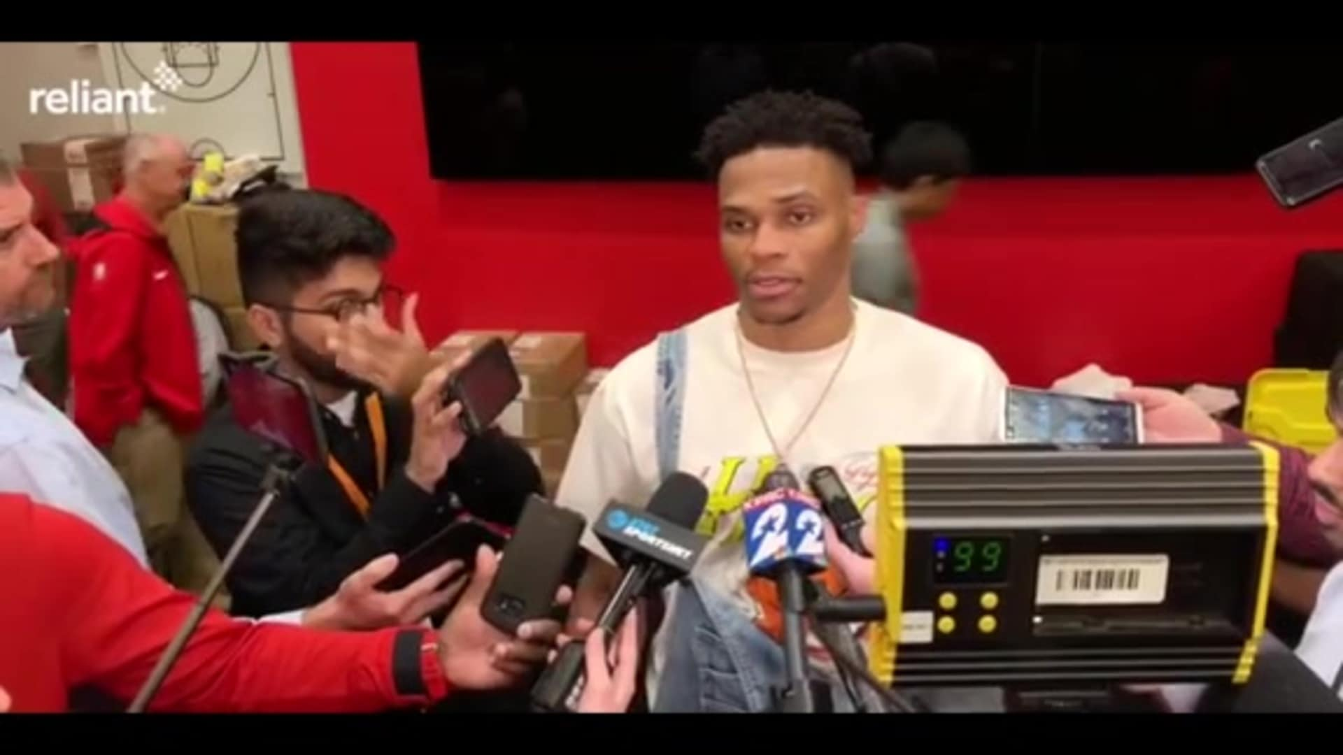 Postgame Interviews: Russell Westbrook 11-6-19