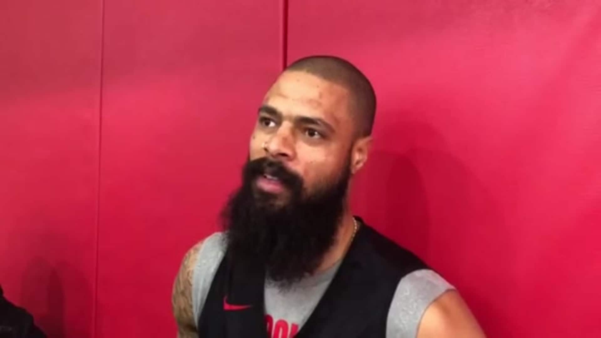 Practice Interviews: Tyson Chandler 11/12/19