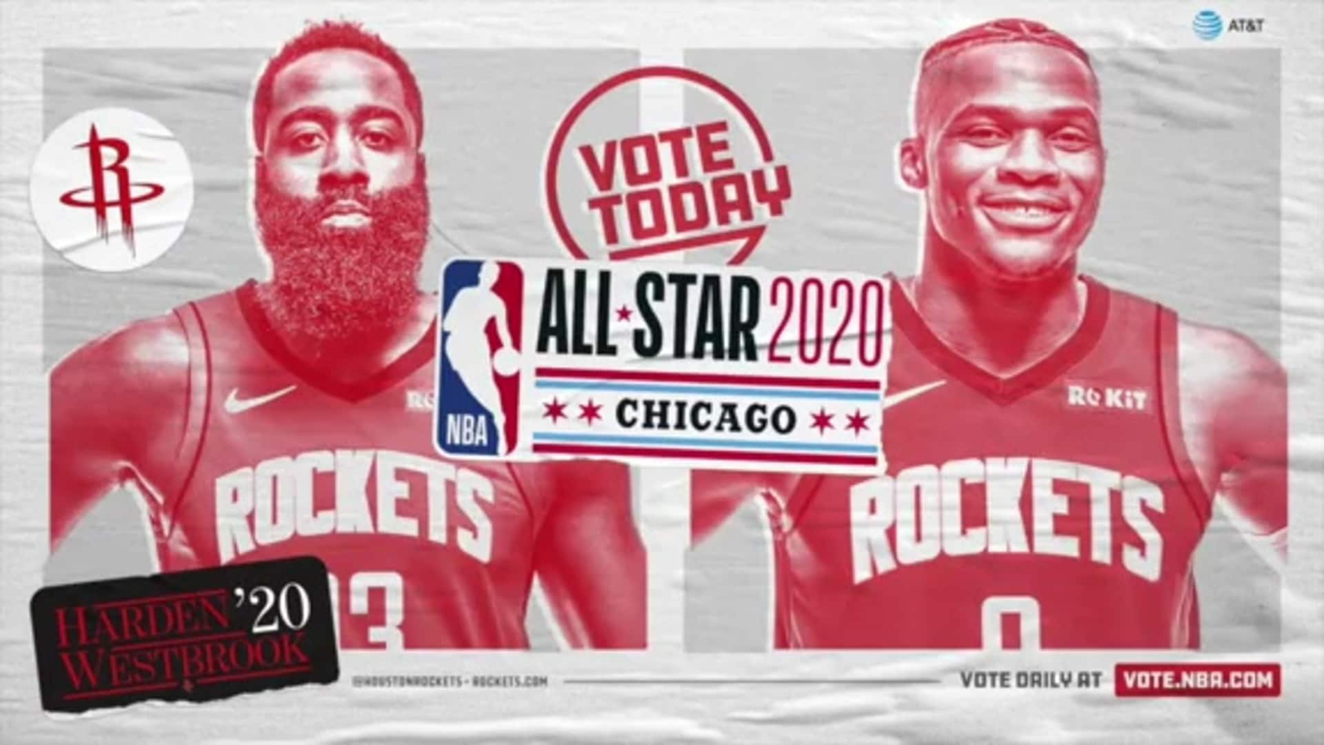 Vote Rockets For All Star 2020 Houston Rockets