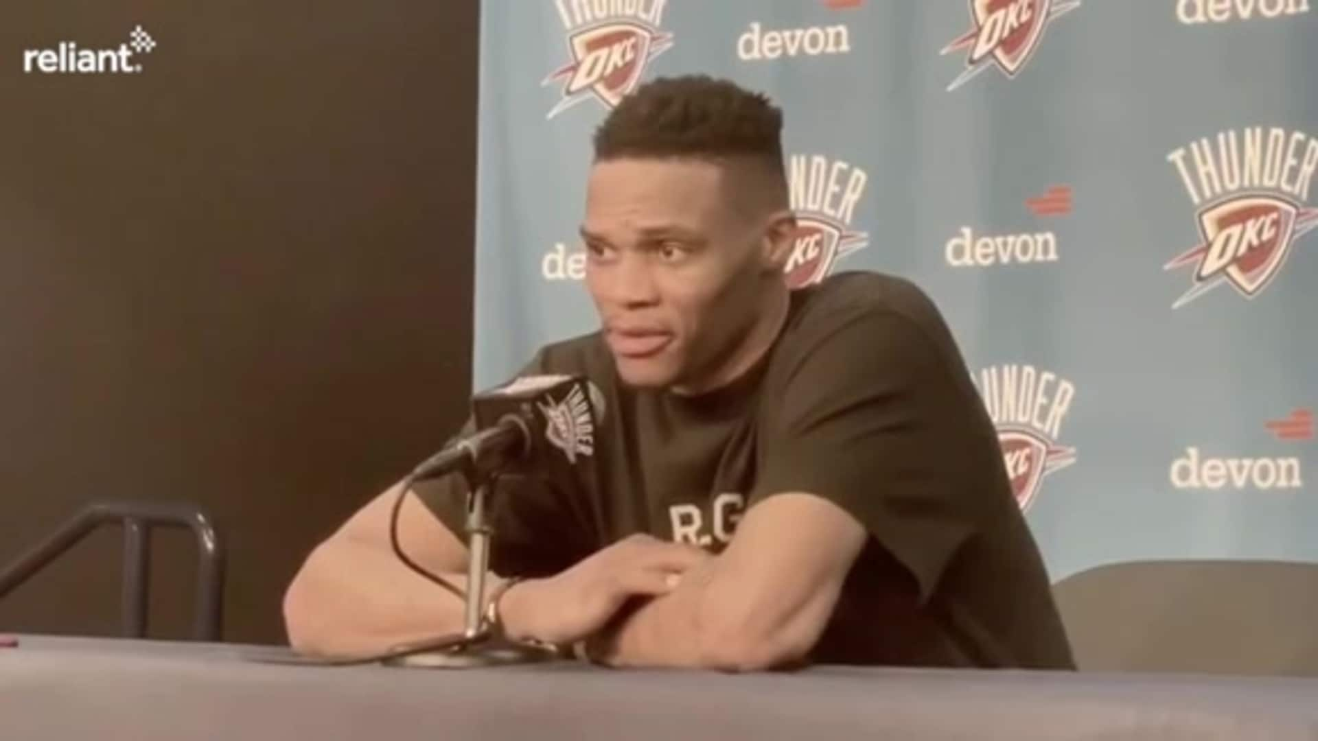 Postgame Interview: Russell Westbrook 1-9-2020