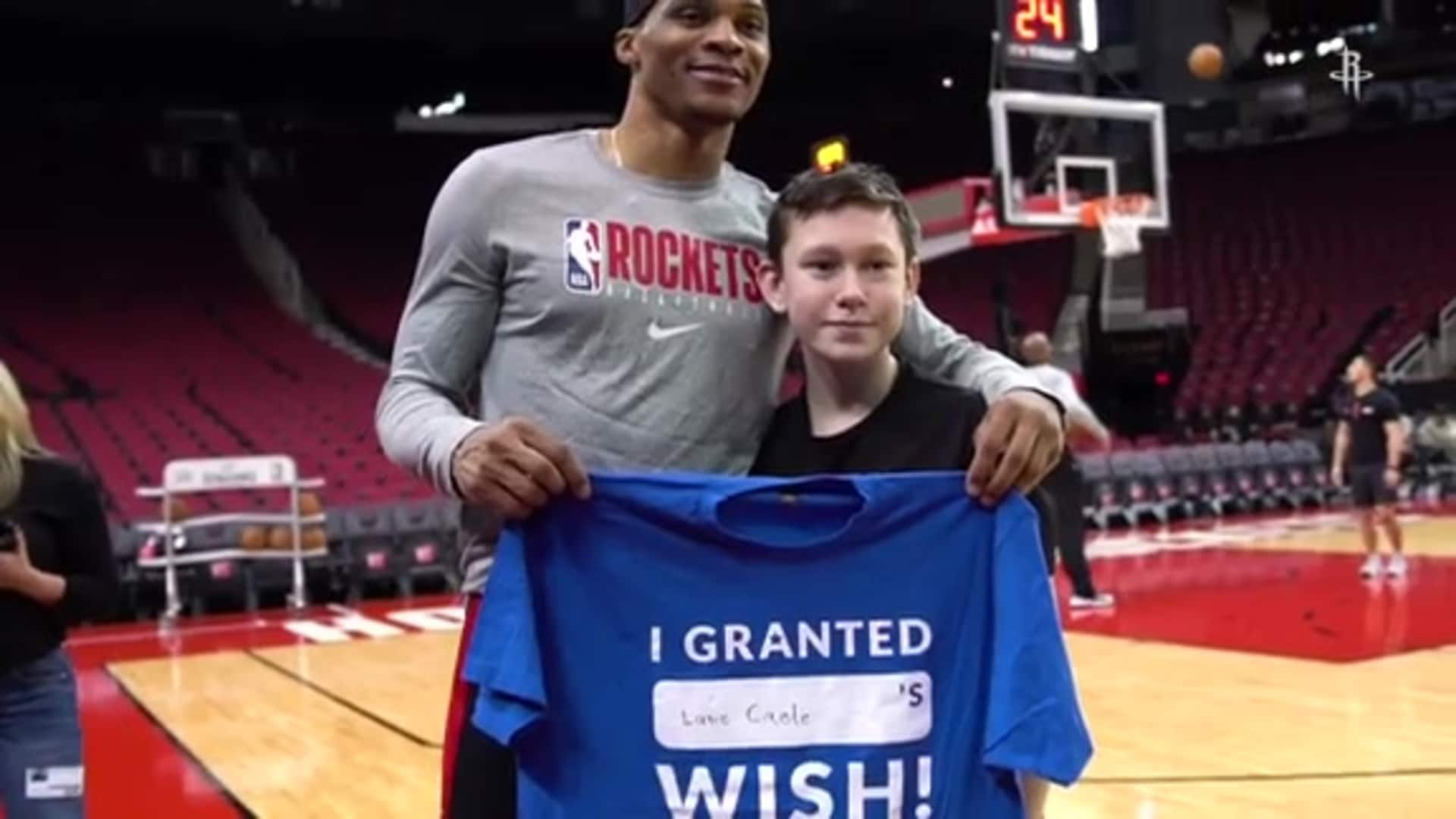 Houston Rockets / Make-A-Wish Foundation