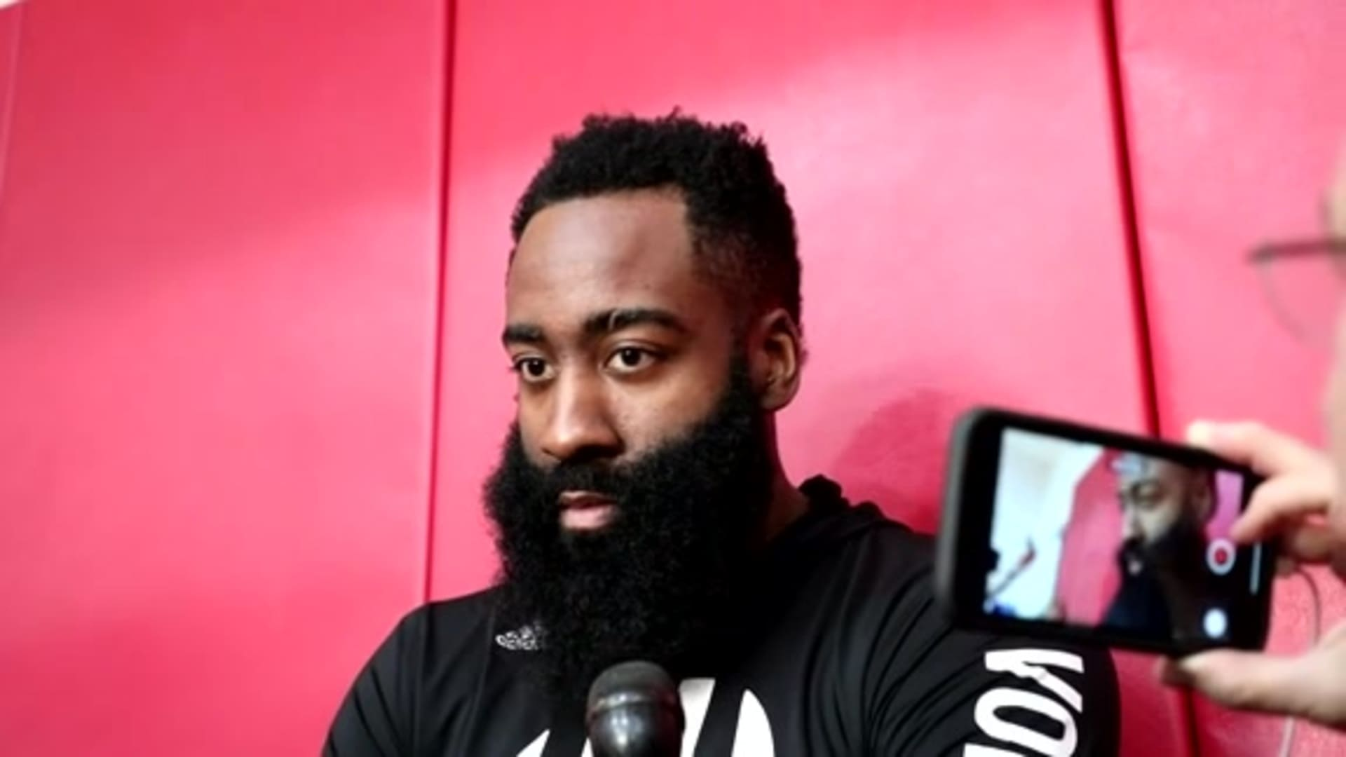 Practice Interviews: James Harden 3/4/20