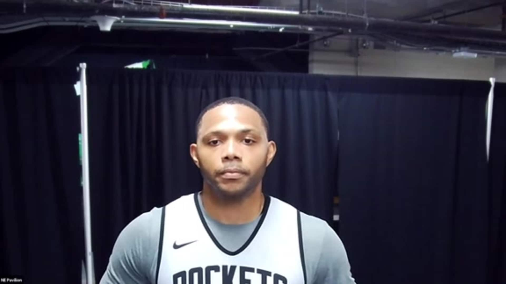 Practice Interviews: Eric Gordon 7/12/20