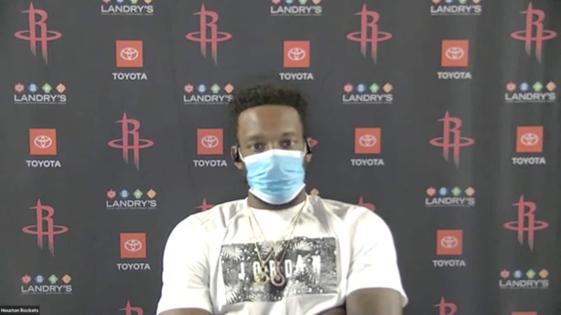Postgame Interviews 8/14/20: Jeff Green