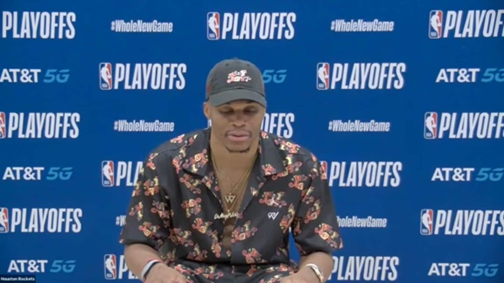 Postgame Interviews 9/10/20: Russell Westbrook