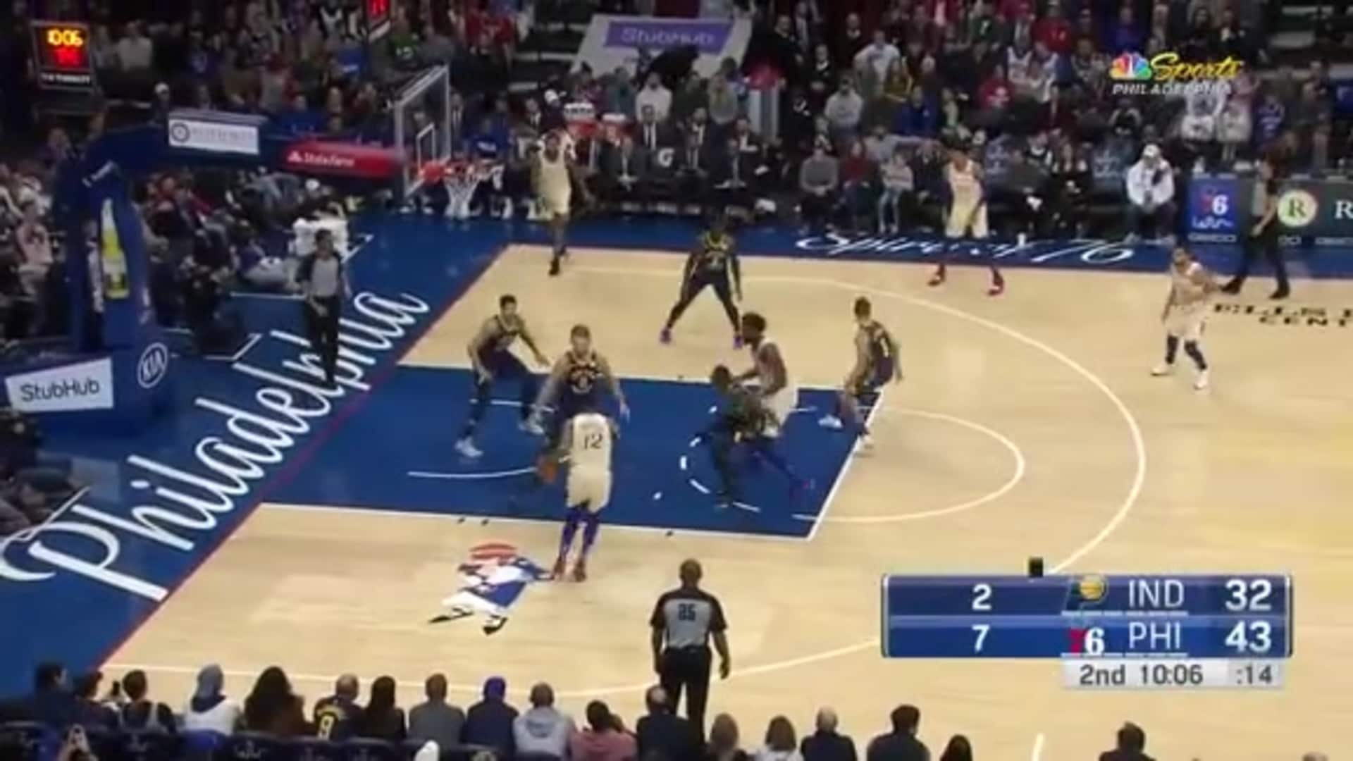 Joel Embiid   Highlights vs Indiana Pacers (11.30.19)