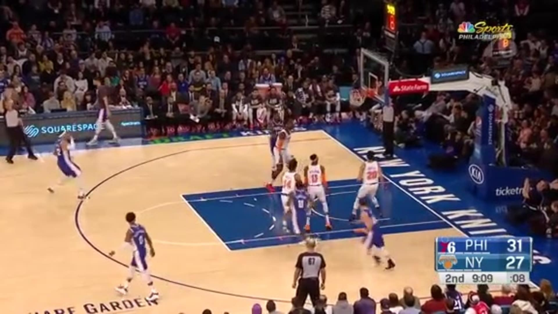 Tobias Harris | Highlights vs New York Knicks (1.18.20)
