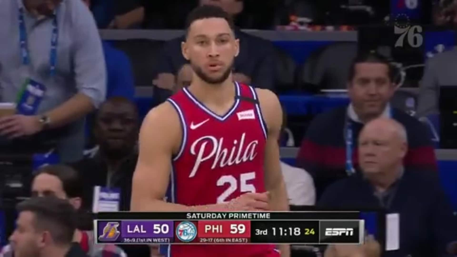 Ben Simmons | Highlights vs Los Angeles Lakers (1.25.20)