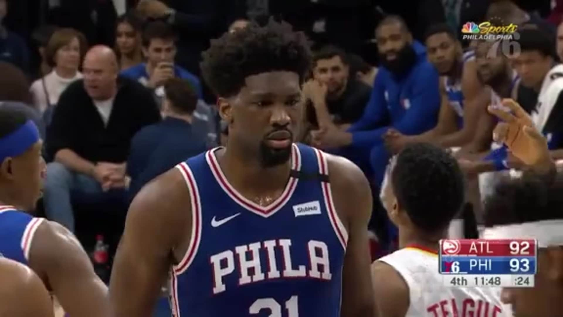 Joel Embiid | Highlights vs. Atlanta Hawks (02.24.2020)