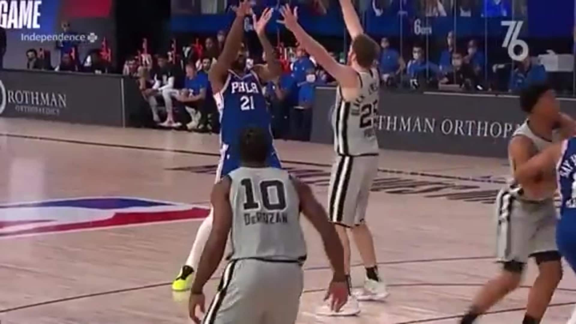 Joel Embiid | Highlights vs. San Antonio Spurs (08.03.2020)