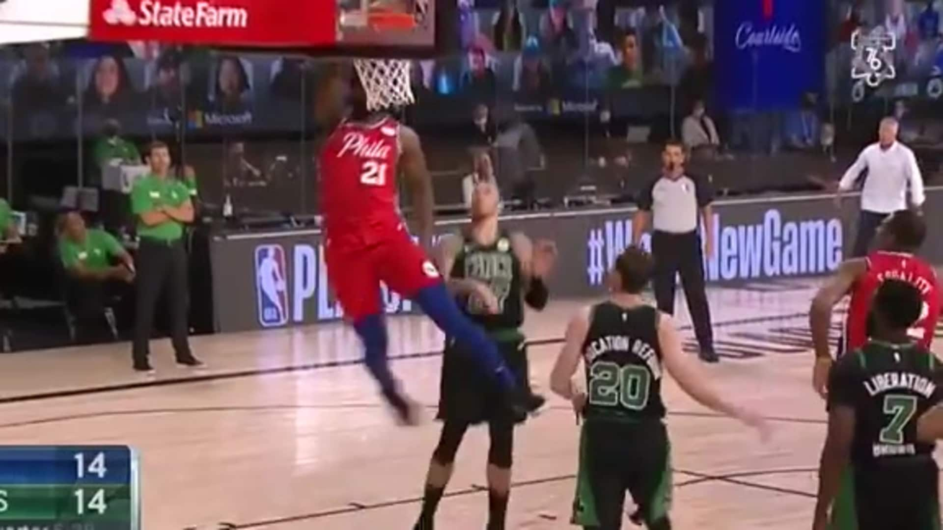 Joel Embiid | Highlights vs Boston Celtics | 08.17.2020