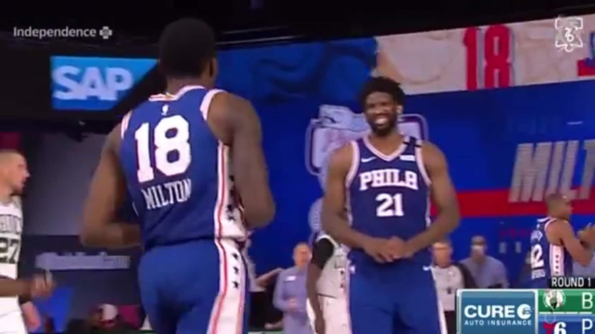 Joel Embiid | Highlights vs. Boston Celtics (08.21.2020)