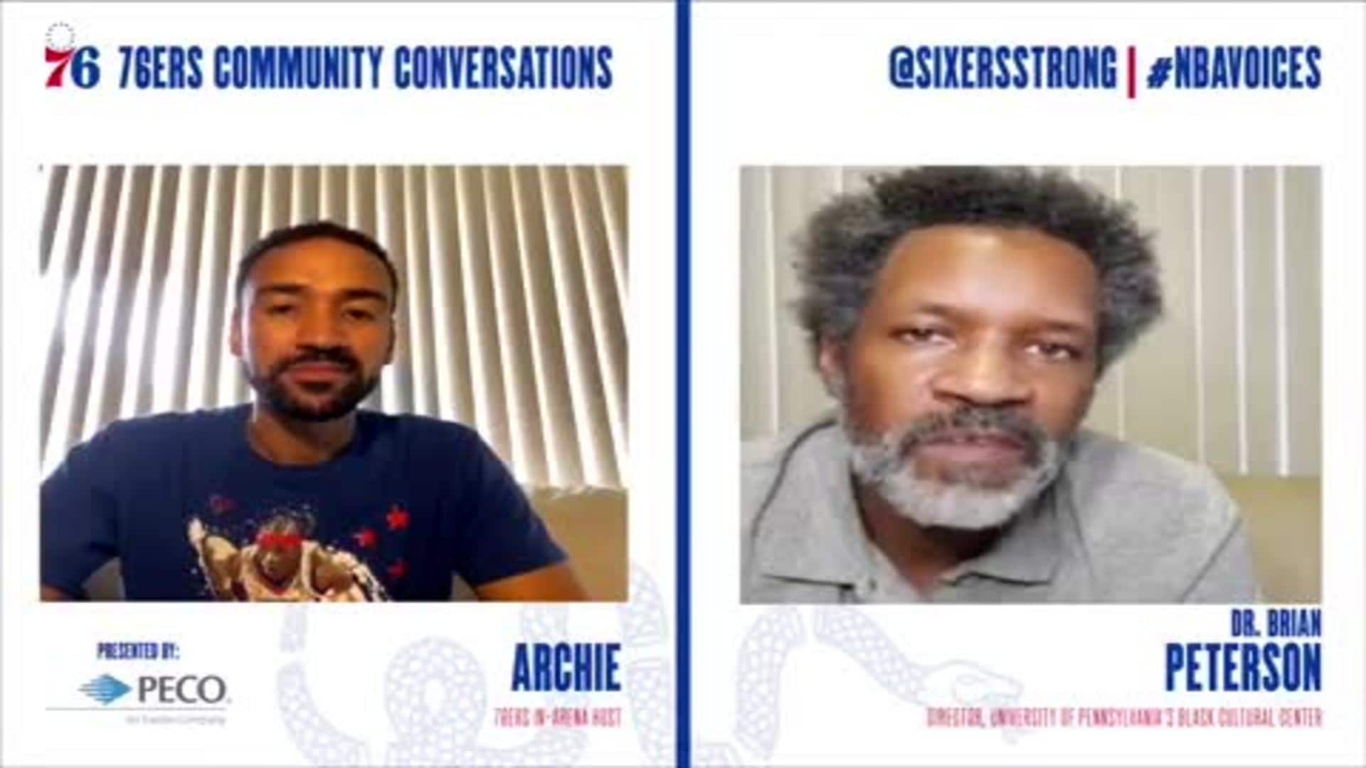 76ers Community Conversations | Succeeding as First Generation College Student