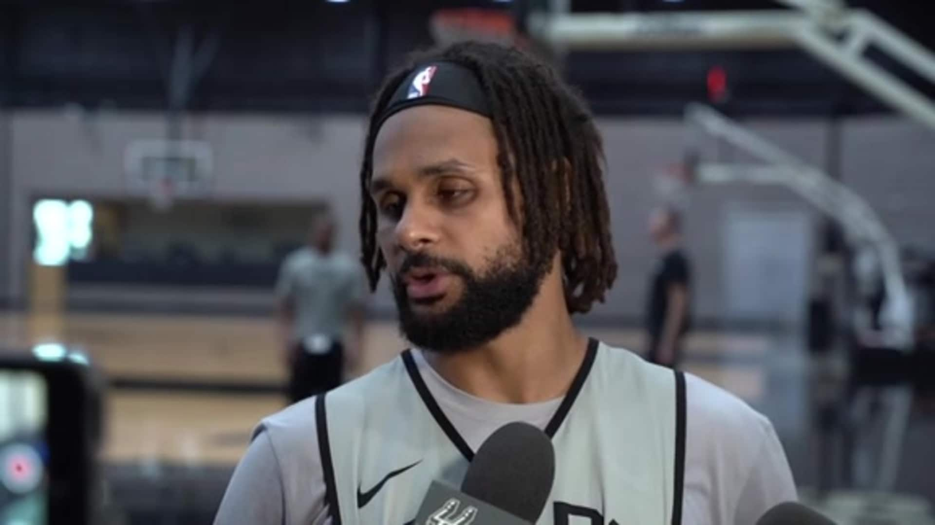 Patty Mills - Shootaround 10/30/19
