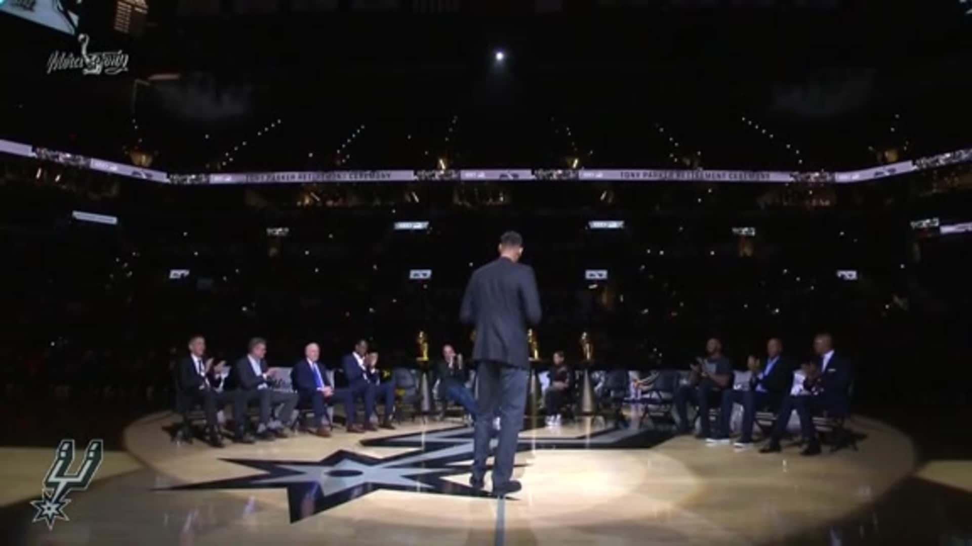 Tim Duncan's Speech