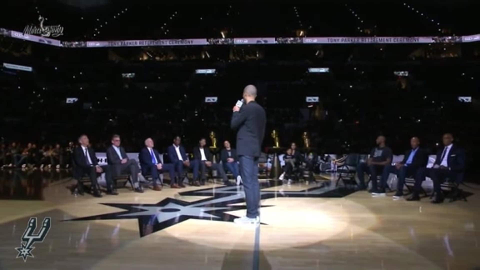 Tony Parker's Speech