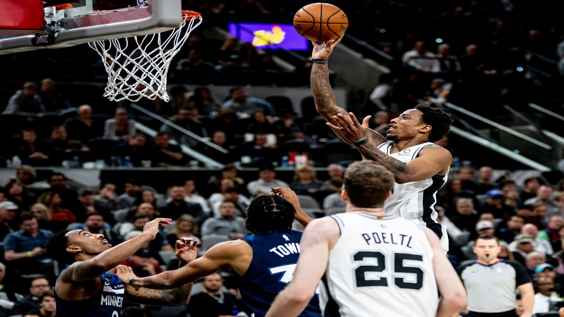 Highlights: Spurs vs. Timberwolves 11/27