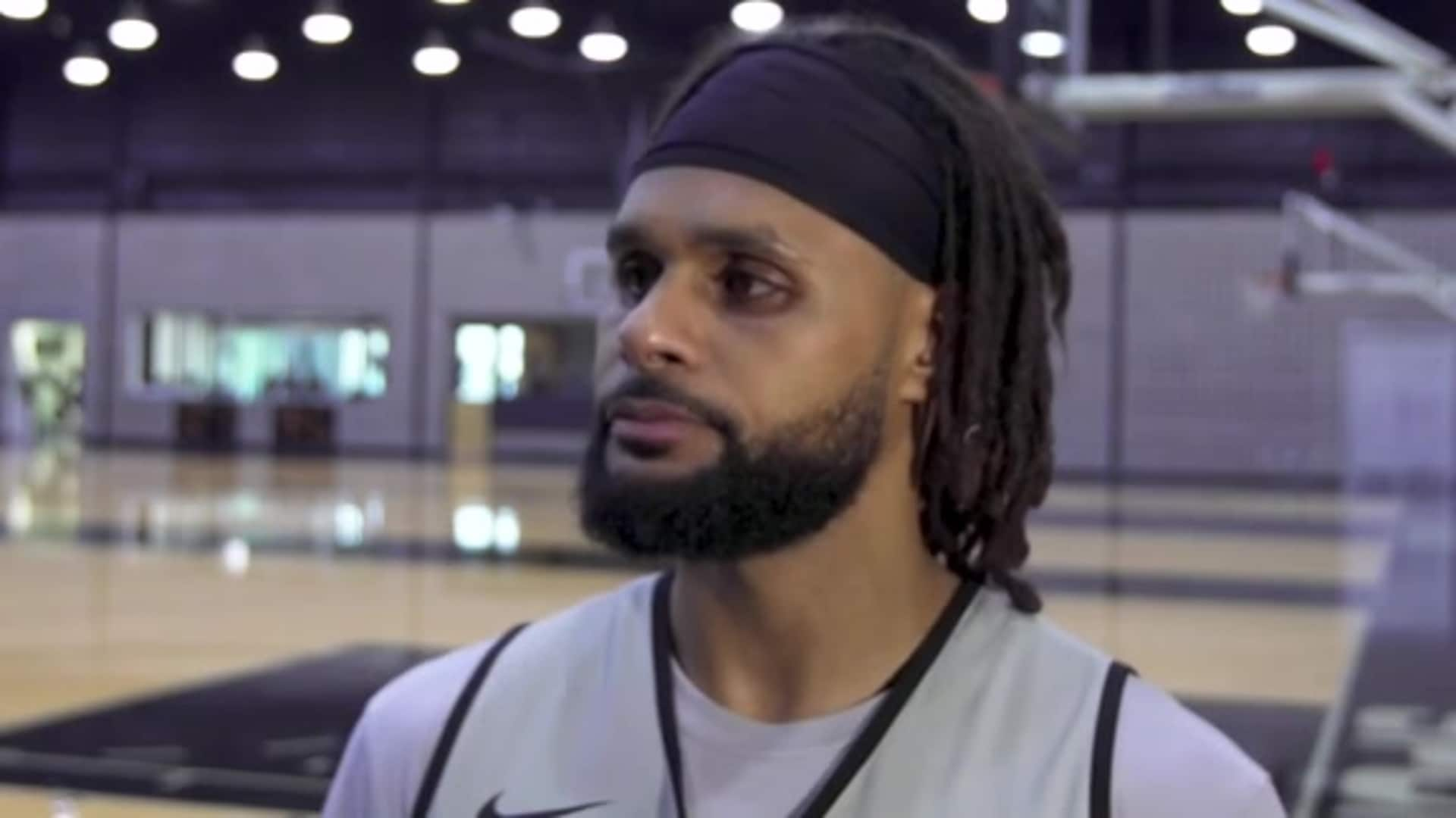 Patty Mills - Shootaround 11/29/19