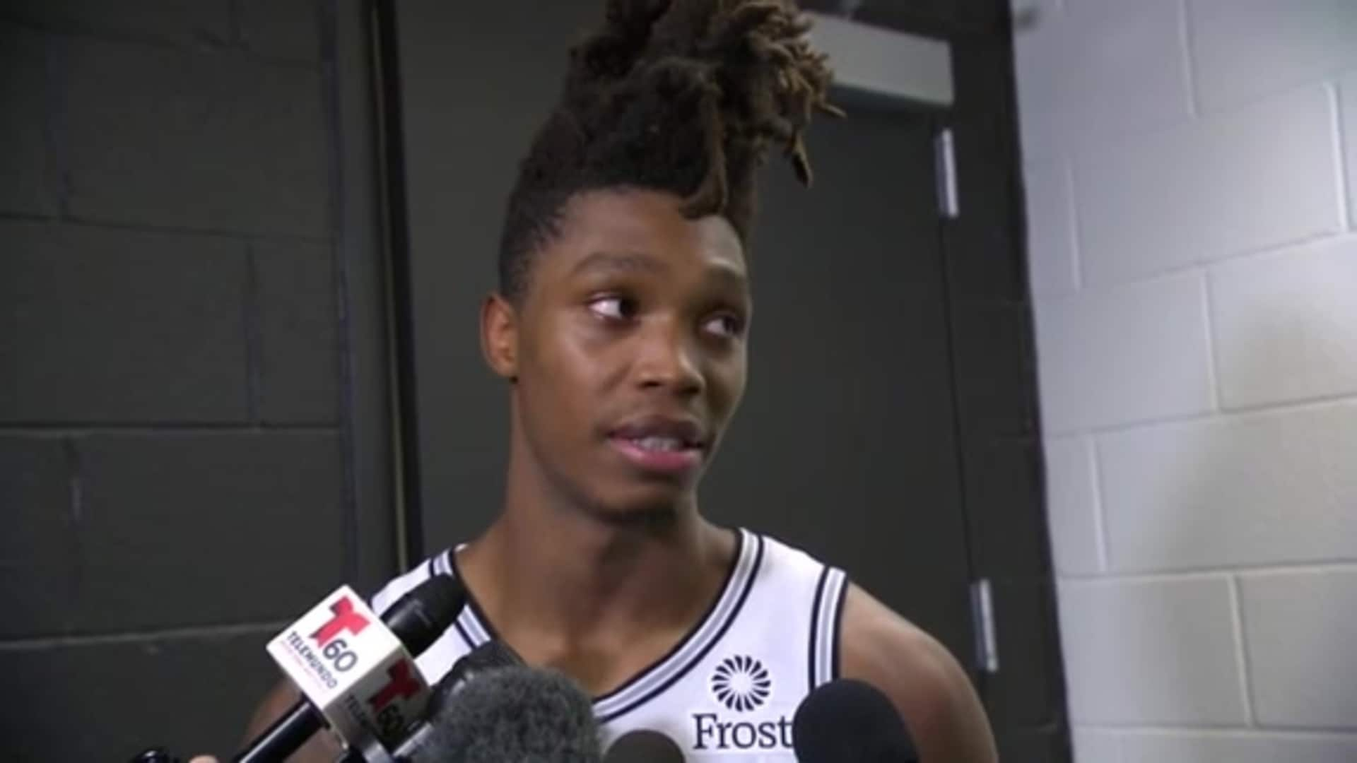 Lonnie Walker IV - Postgame 12/3/19