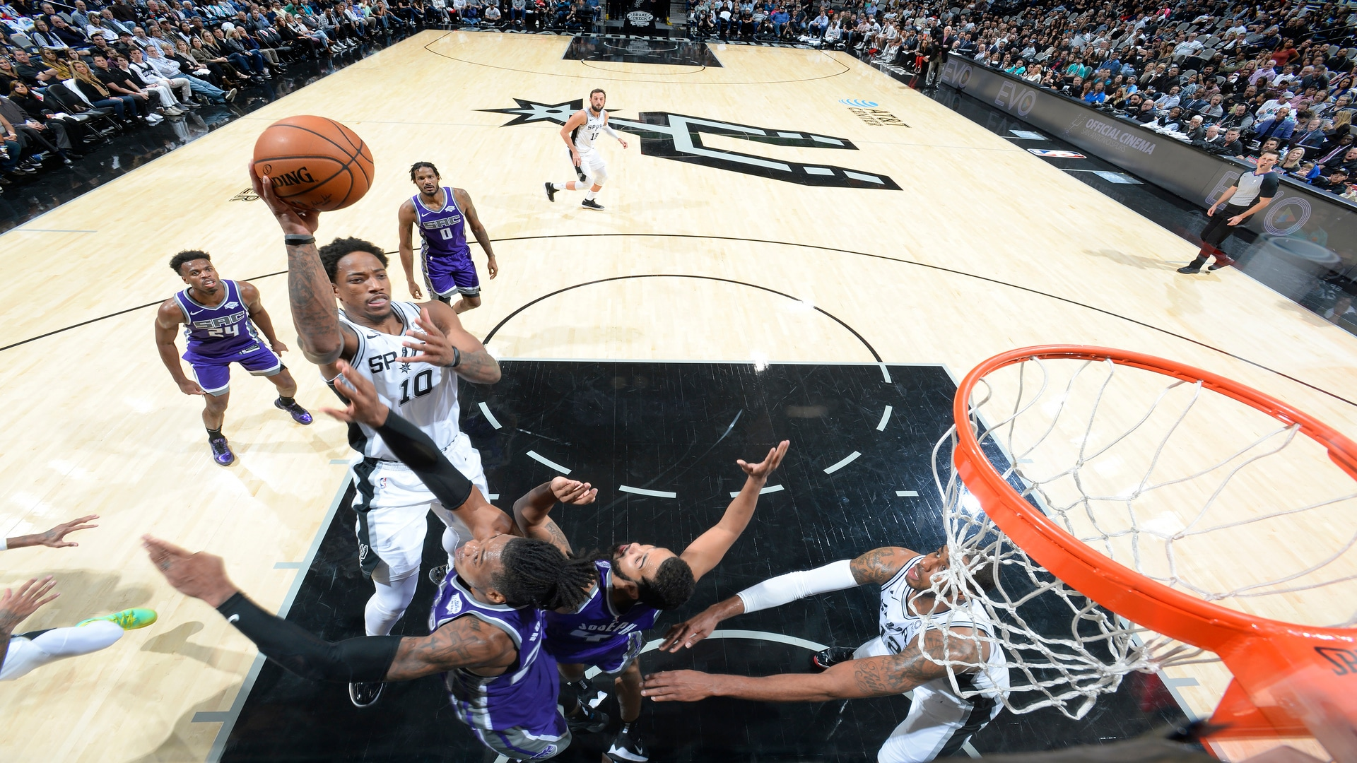 Highlights: Spurs vs. Kings 12/6