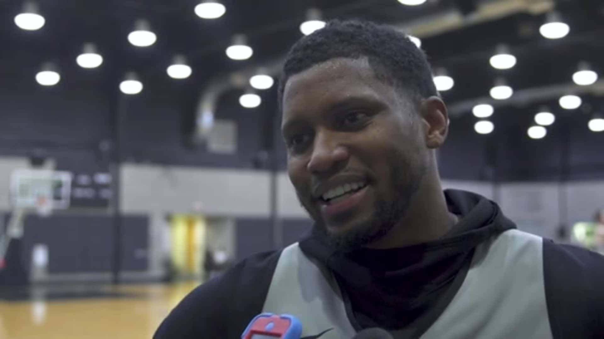 Rudy Gay - Shootaround 12/18/19