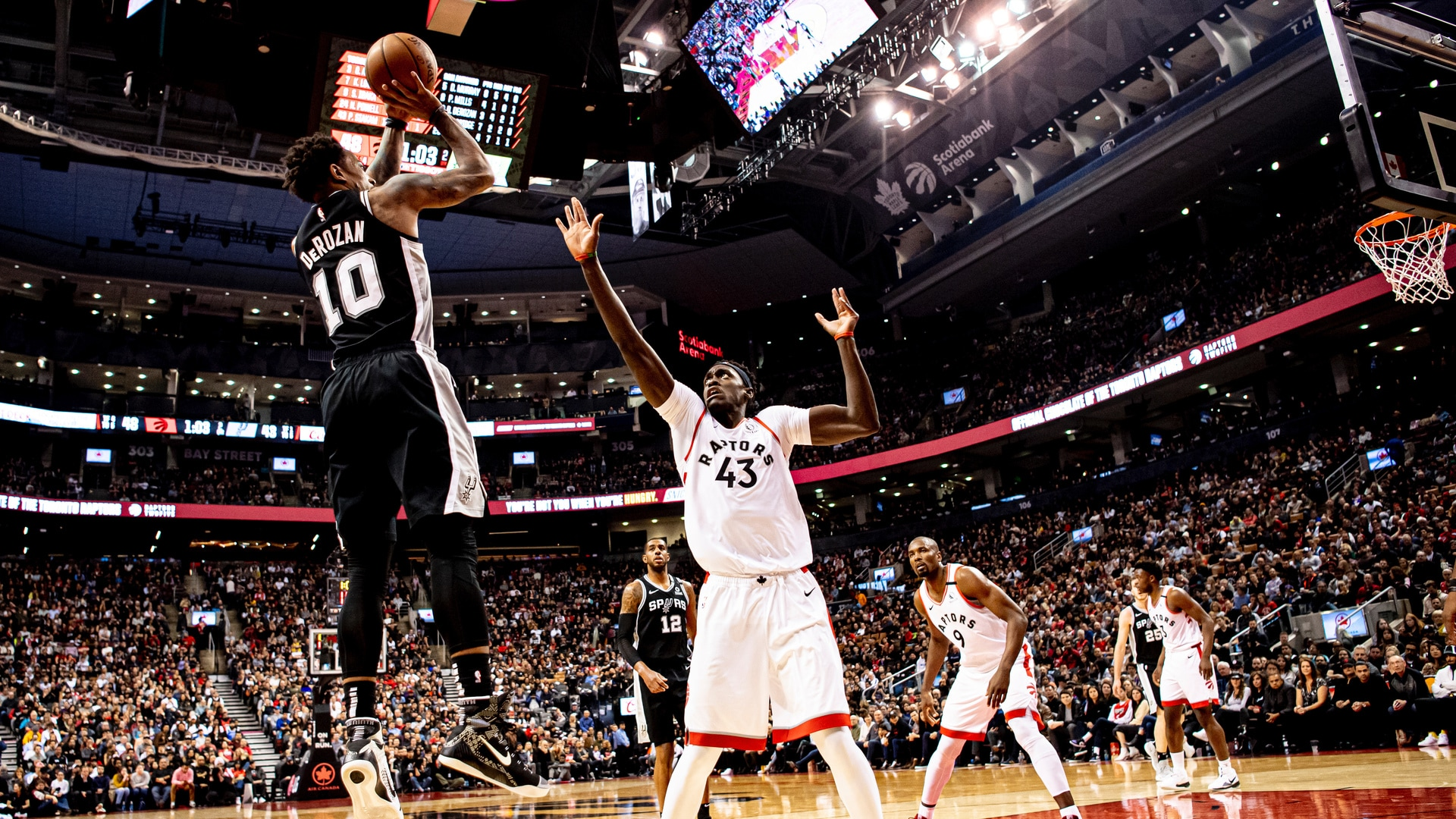 Highlights: Spurs vs. Raptors 1/12