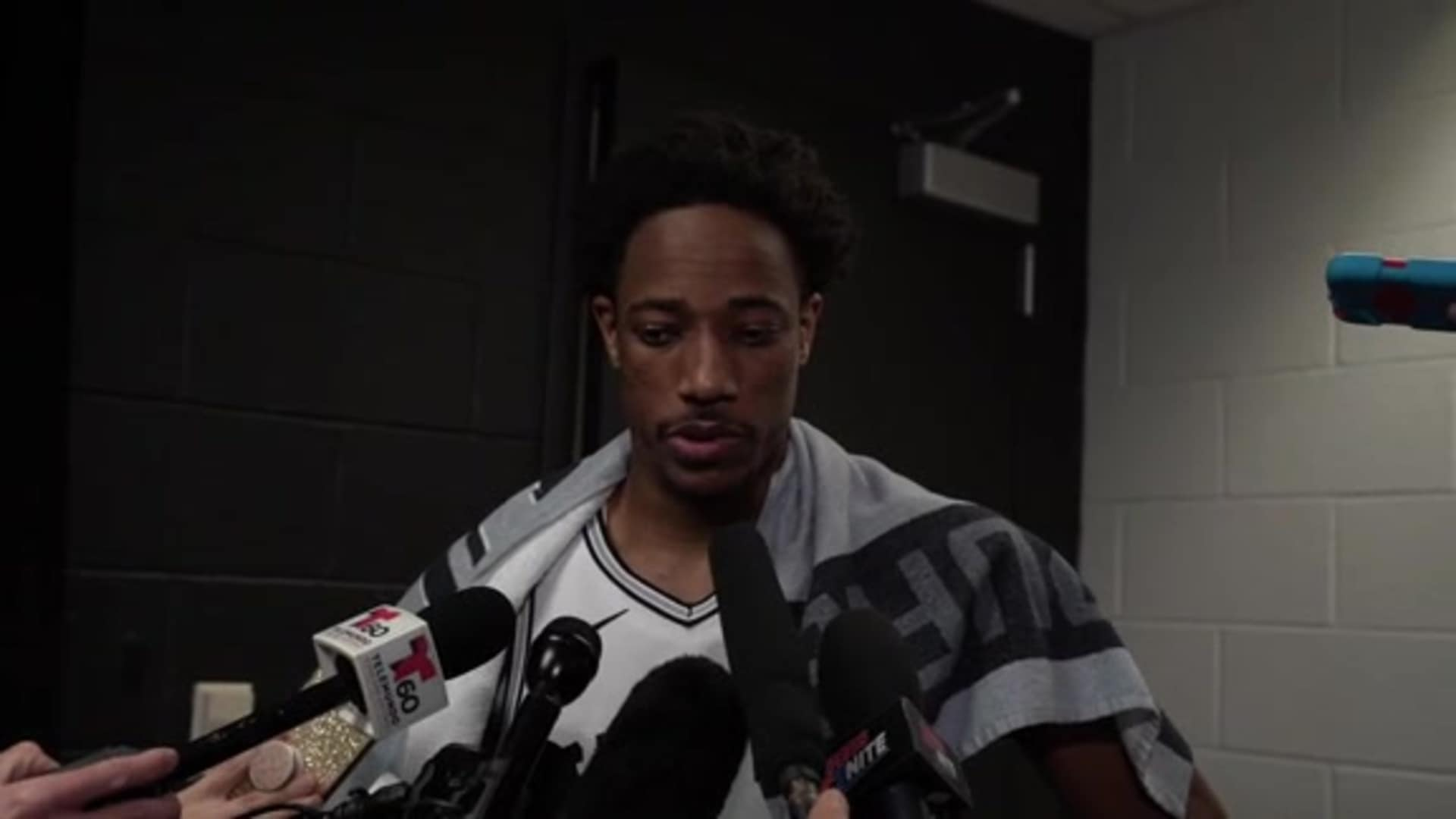 DeMar DeRozan on Kobe Bryant