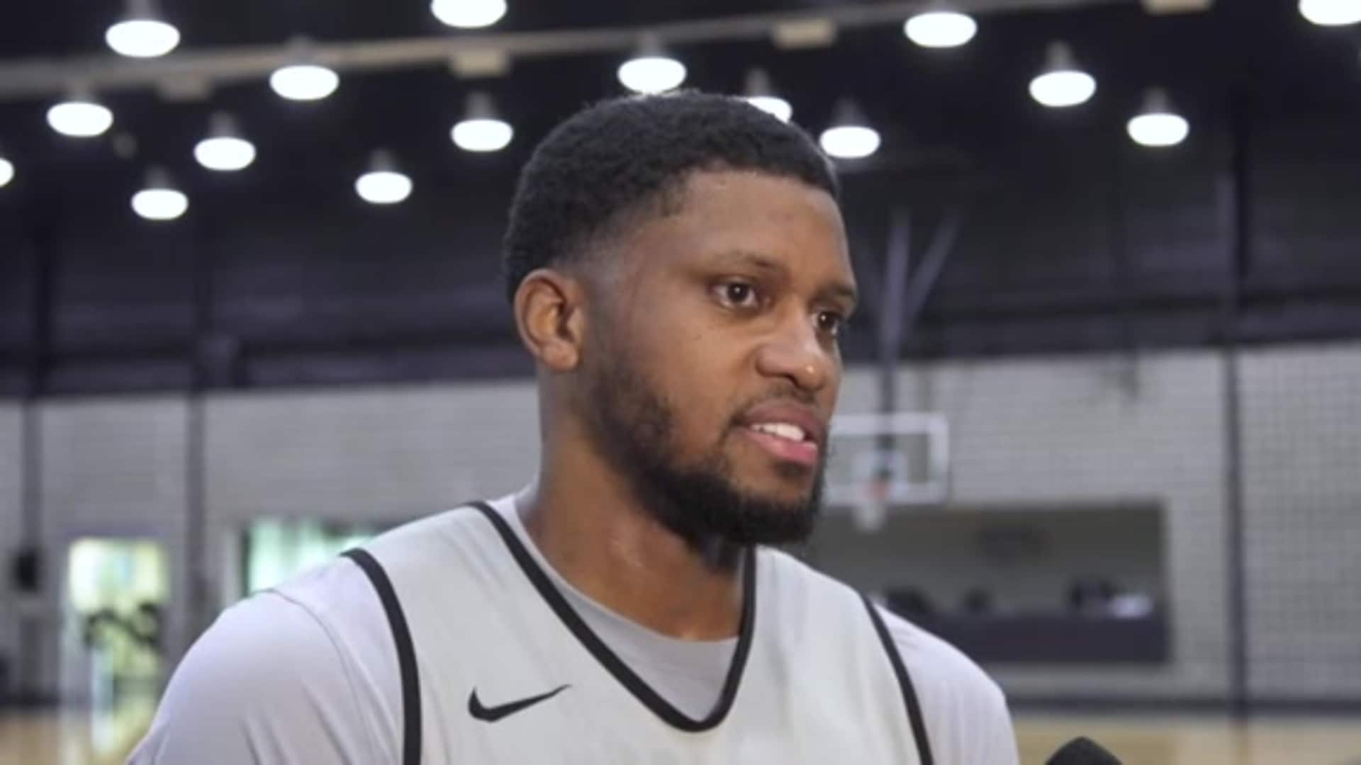 Rudy Gay - Shootaround 01/29/20