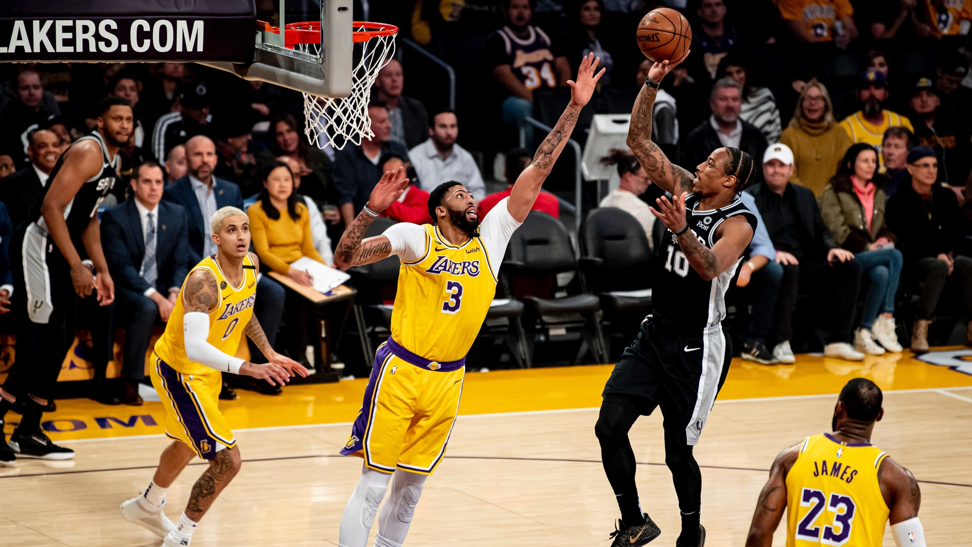 Highlights: Spurs vs. Lakers 2/4