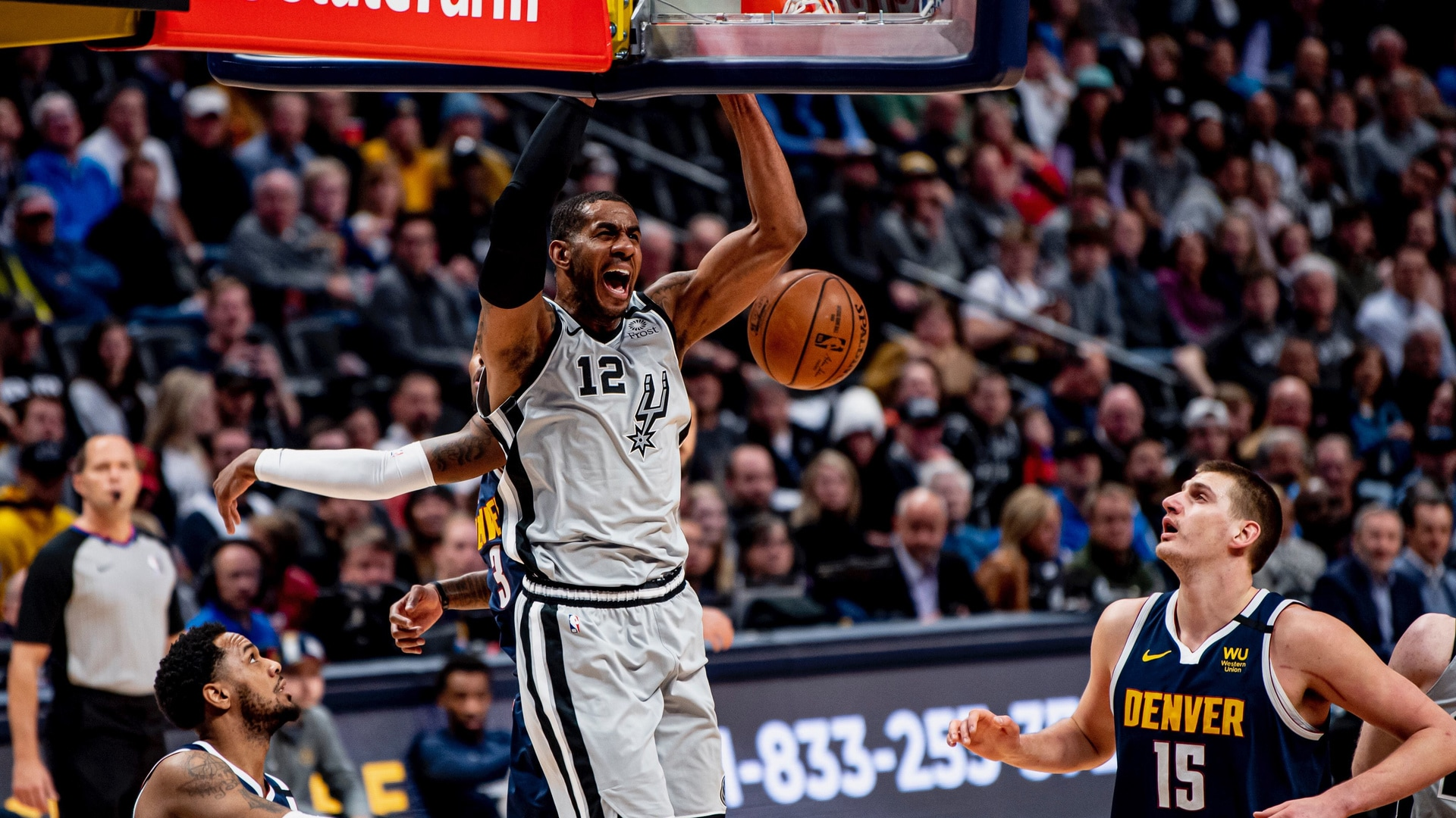 Highlights: Spurs vs. Nuggets 2/10