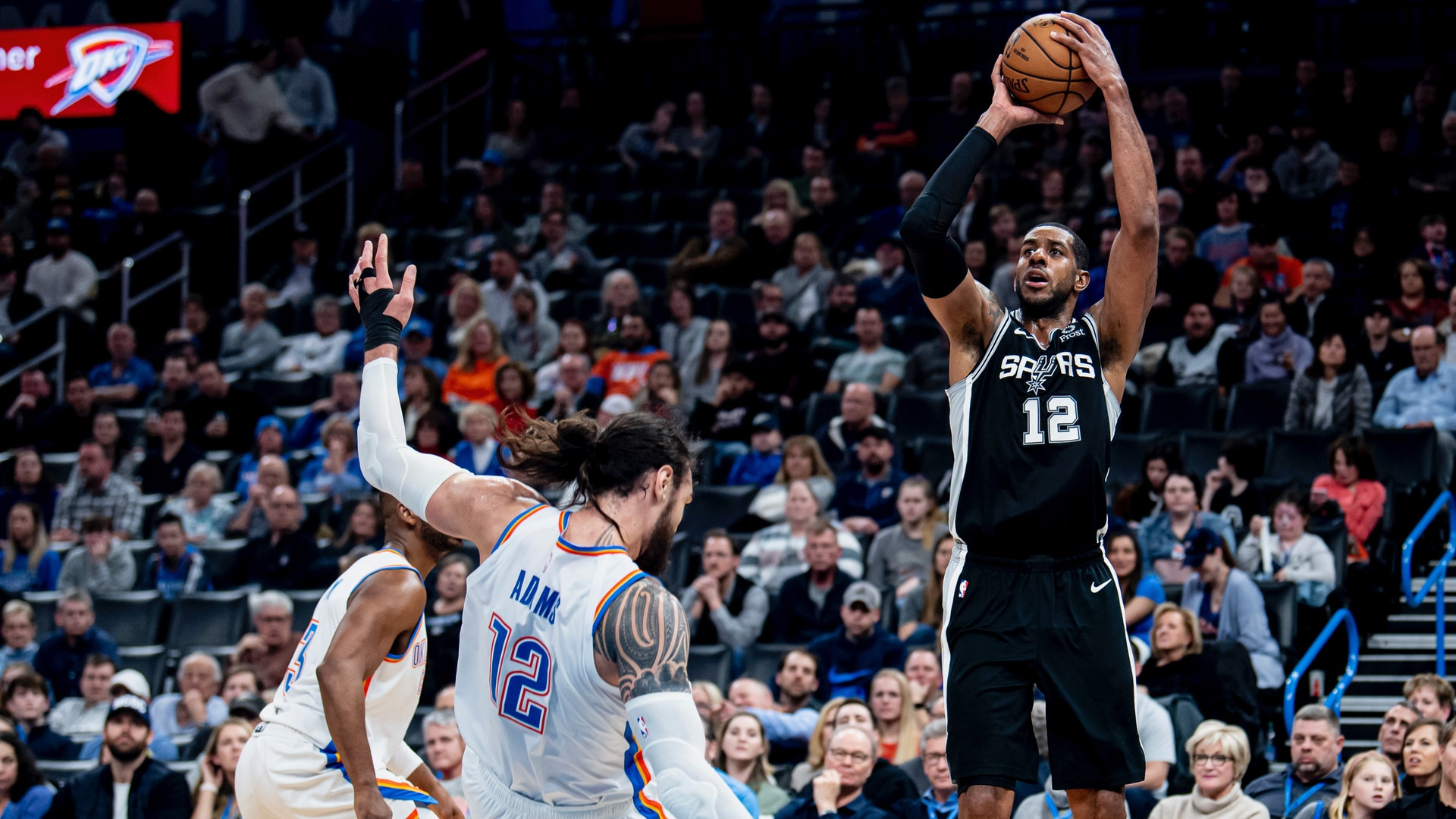 Highlights: Spurs vs. Thunder 2/11
