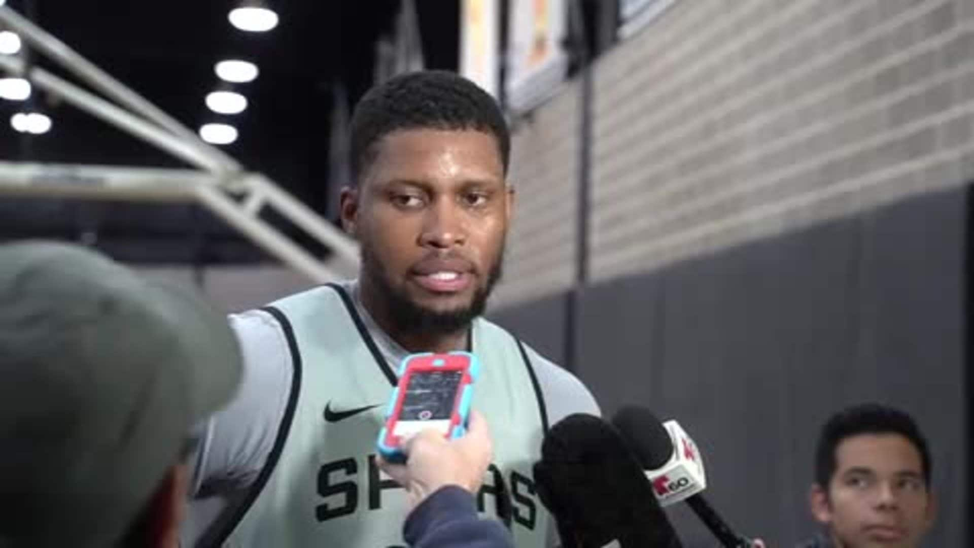 Rudy Gay - Shootaround 02/19/20