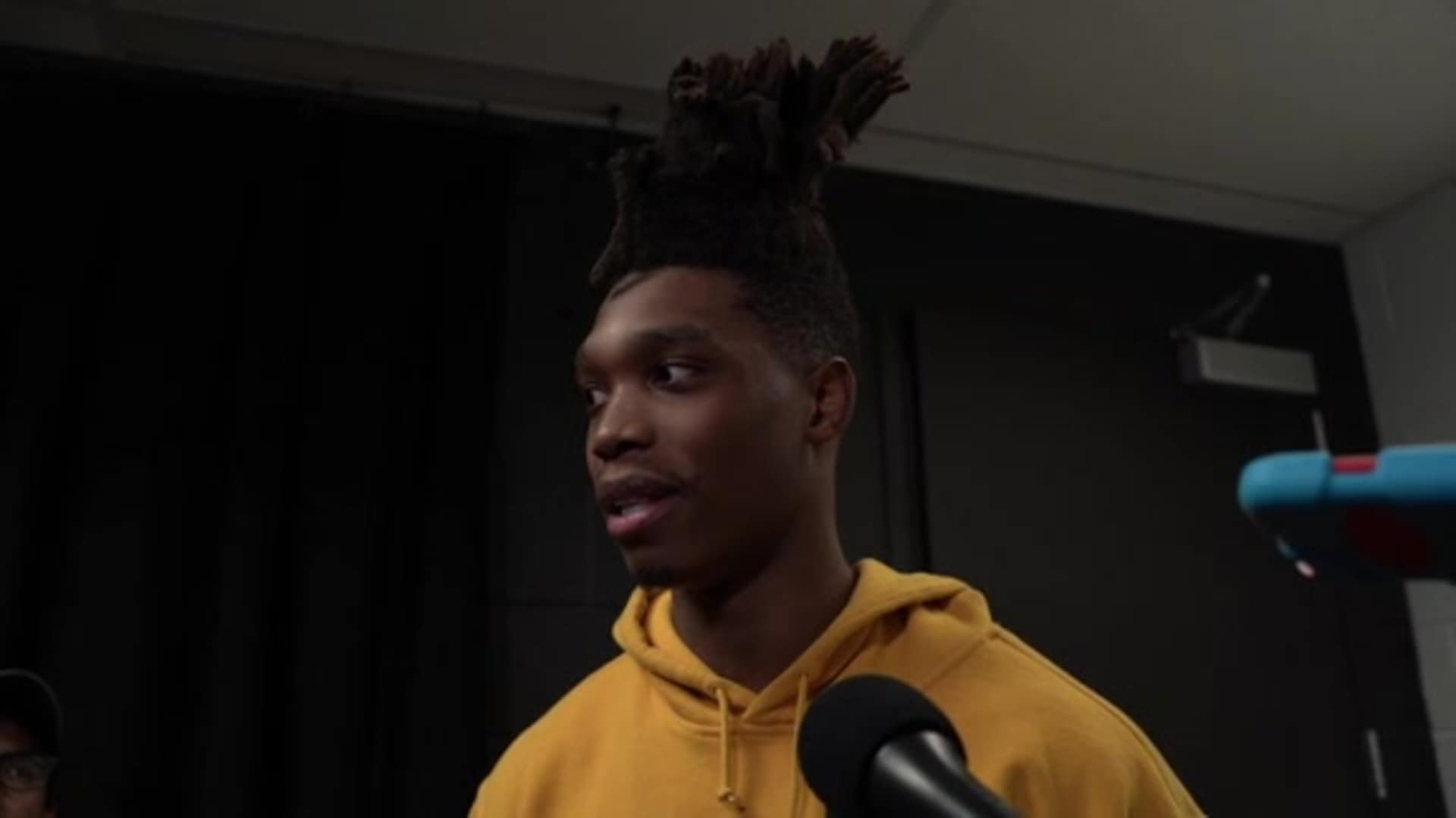Lonnie Walker IV - Postgame 2/26