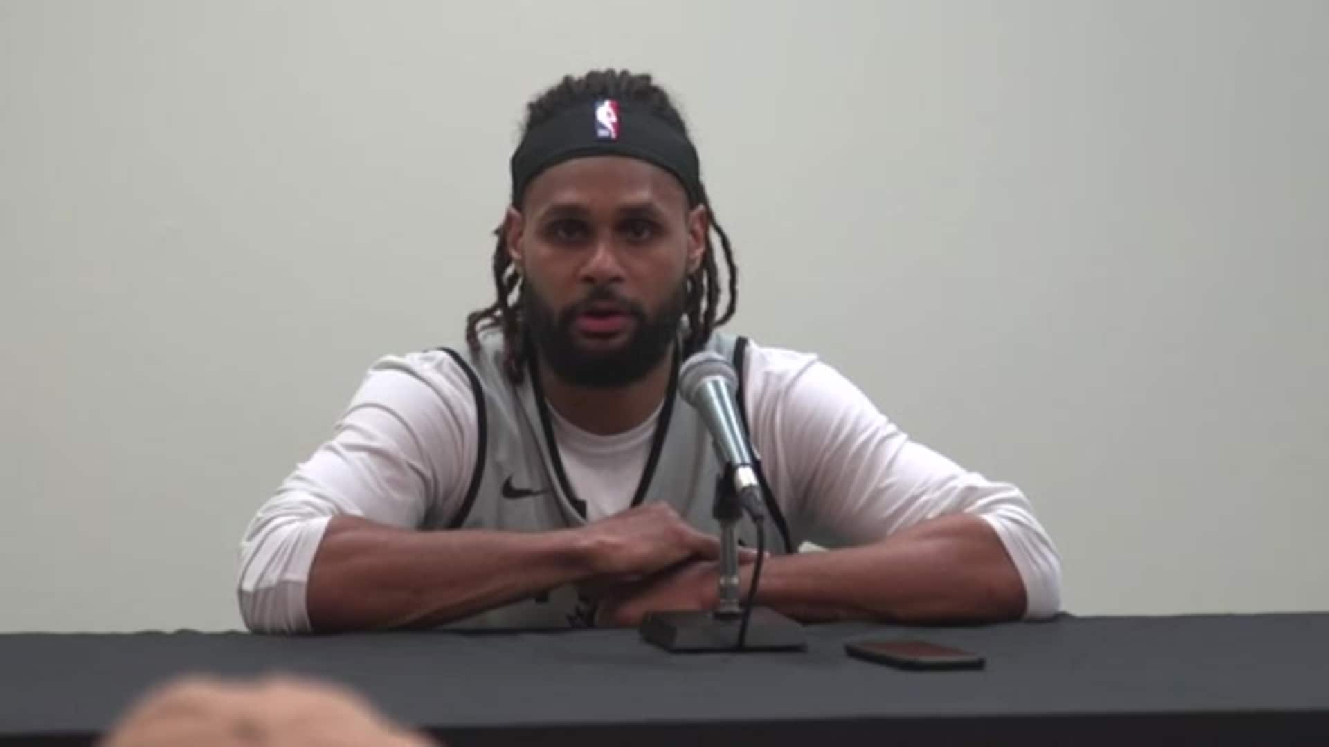 Patty Mills - Shootaround 3/10