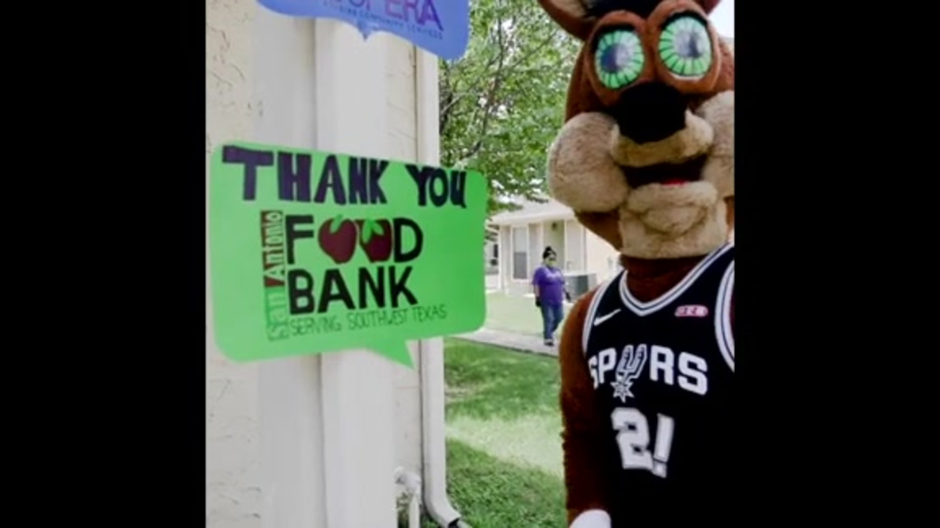SPURS GIVE AND THE TIM DUNCAN FOUNDATION TO DONATE $200,000 TO THE SAN ANTONIO FOOD BANK