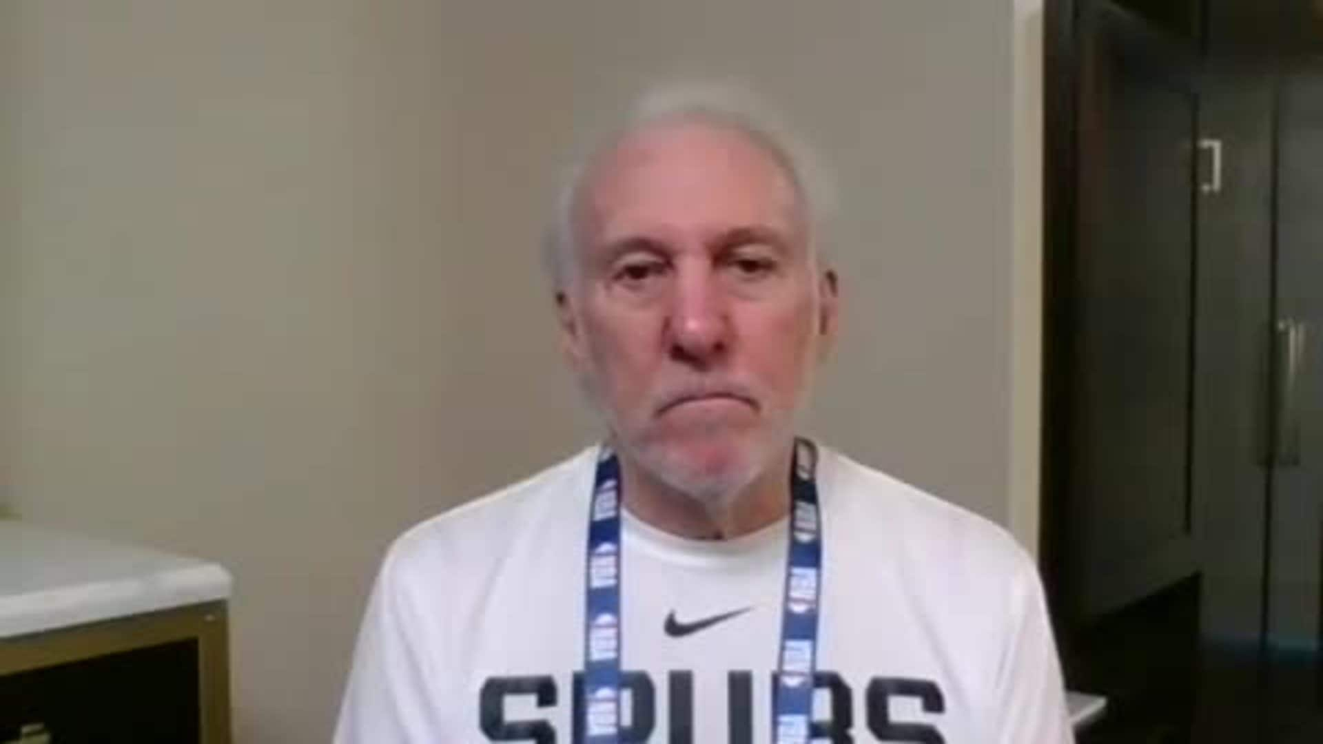 NBA Restart | Coach Popovich 7/11 Media Availability