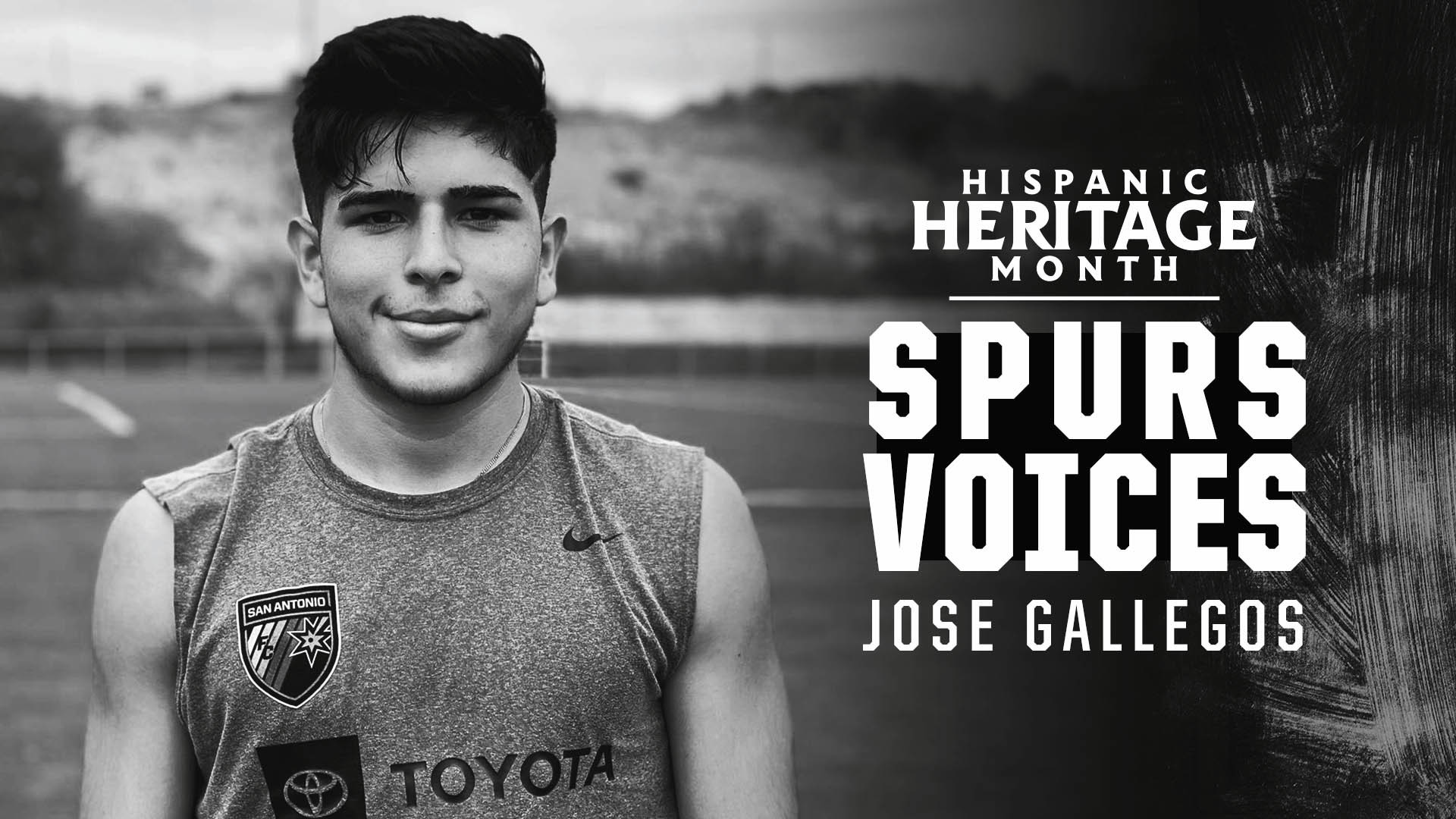 Jose Gallegos | Spurs Voices