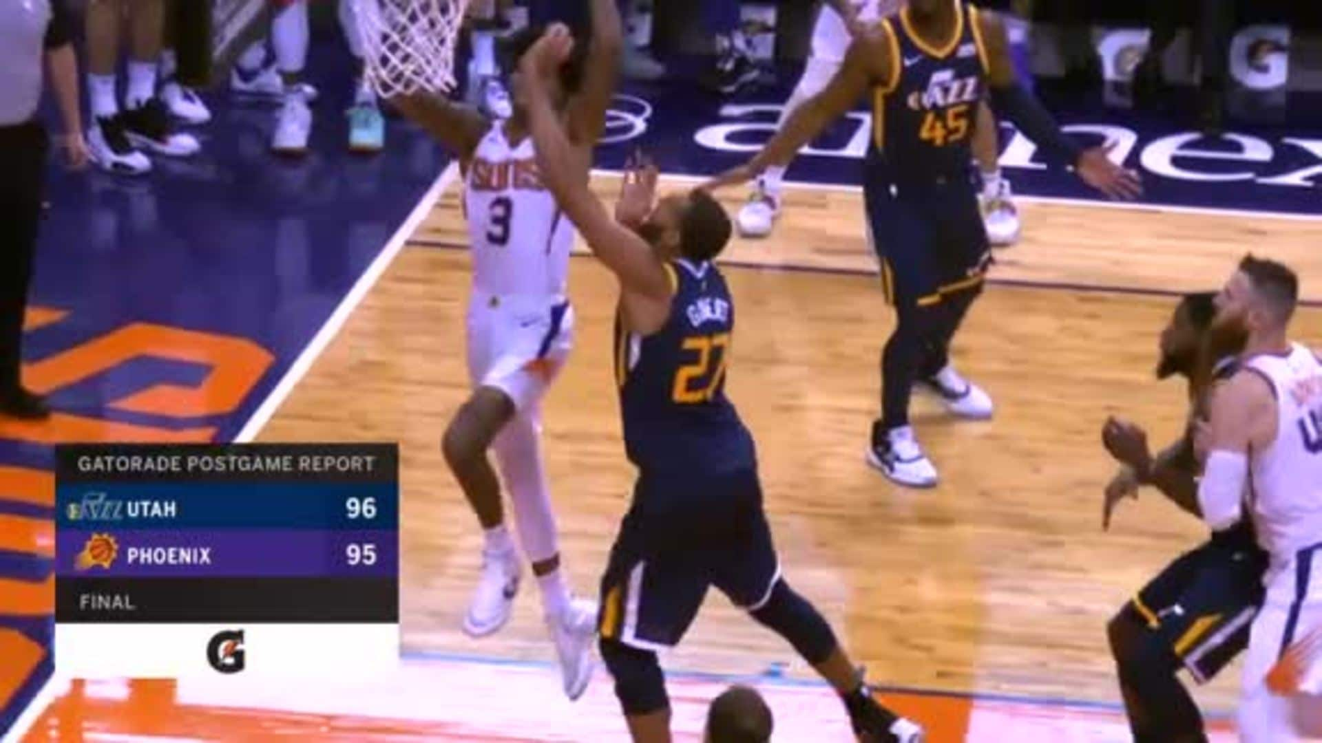 Gatorade Postgame Report: Suns vs. Jazz 2018-19